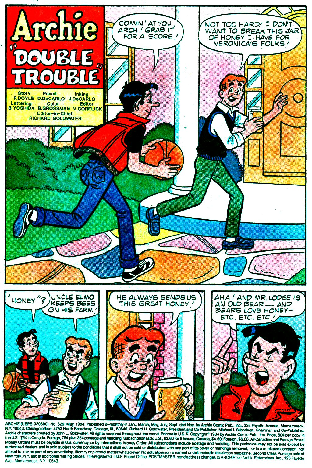 Read online Archie (1960) comic -  Issue #329 - 3