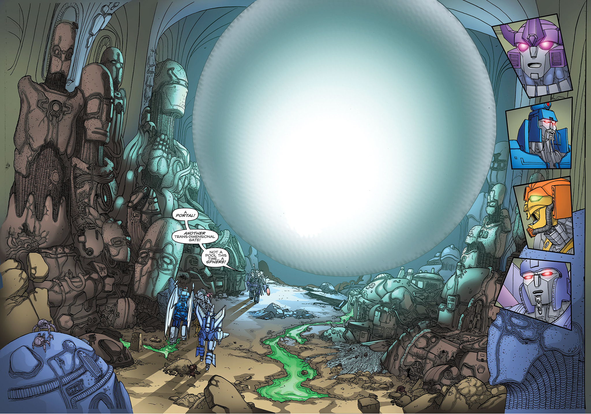 Read online Transformers: Heart of Darkness comic -  Issue #1 - 23