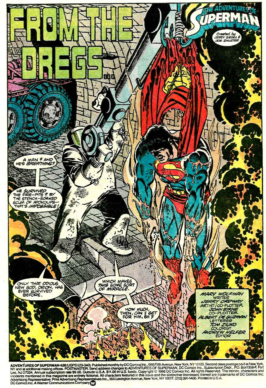 Read online Adventures of Superman (1987) comic -  Issue #426 - 3