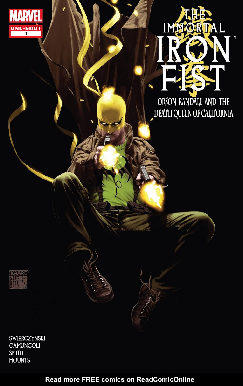 The Immortal Iron Fist: Orson Randall and The Death Queen of California issue Full - Page 1