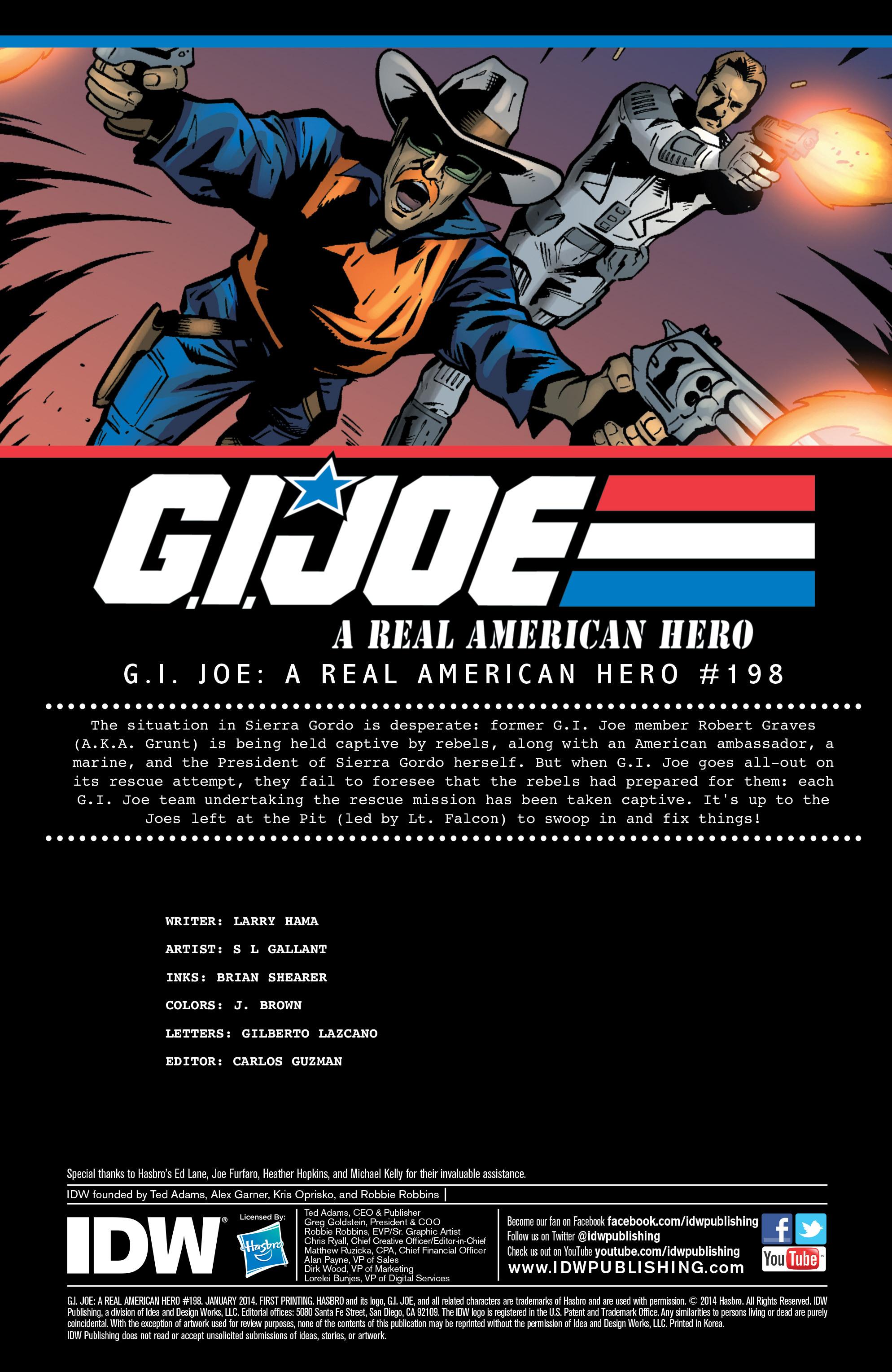 G.I. Joe: A Real American Hero 198 Page 2