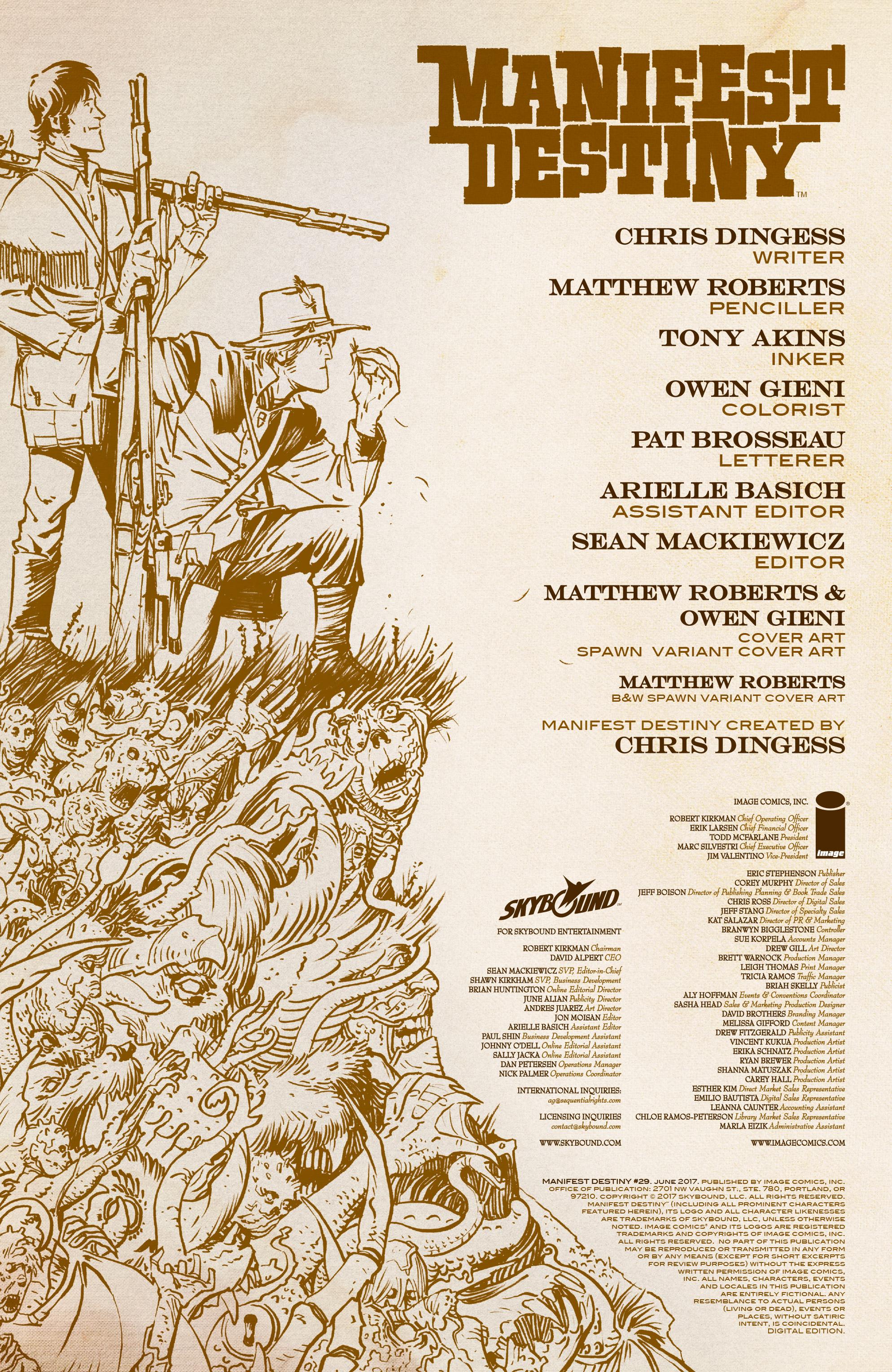 Read online Manifest Destiny comic -  Issue #29 - 2