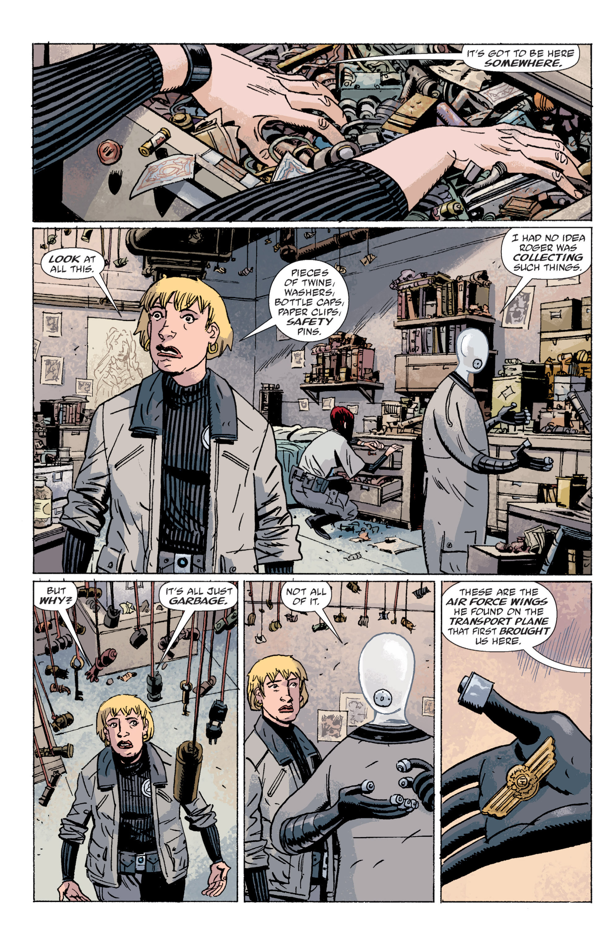 Read online B.P.R.D. (2003) comic -  Issue # TPB 5 - 131