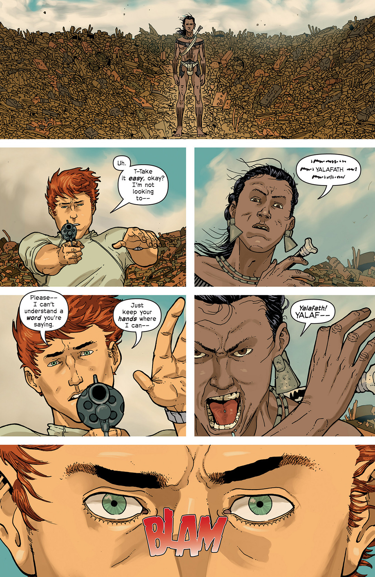 Read online Great Pacific comic -  Issue #2 - 16