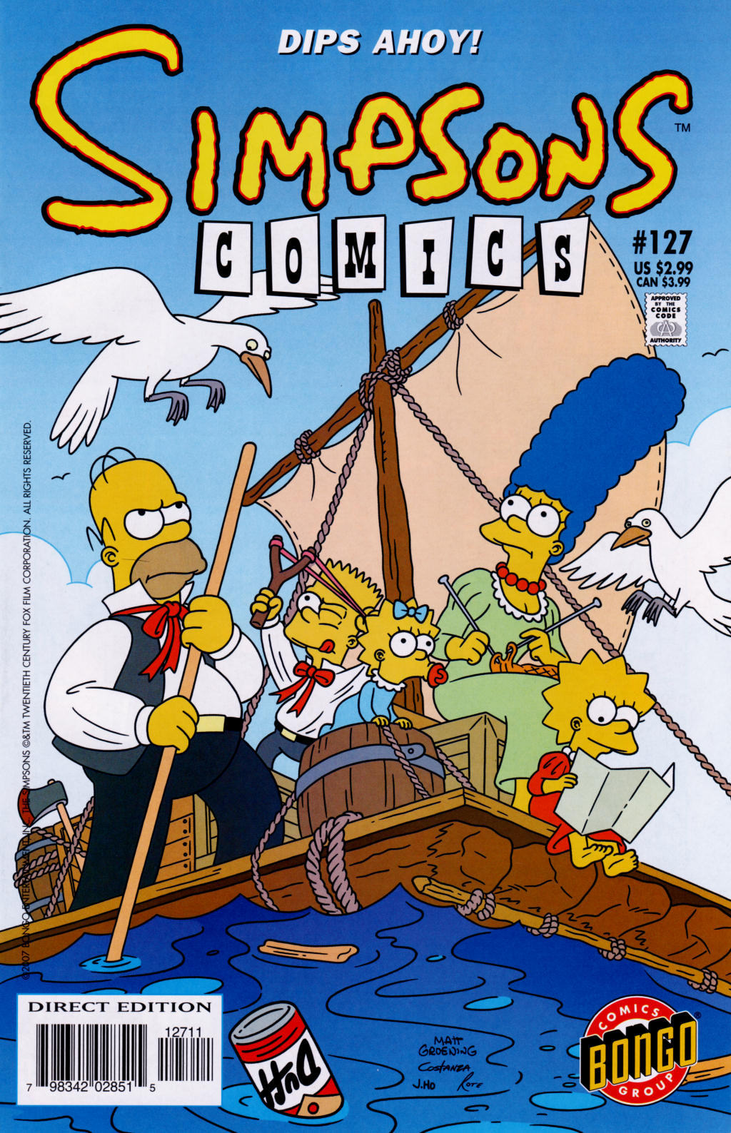 Read online Simpsons Comics comic -  Issue #127 - 1