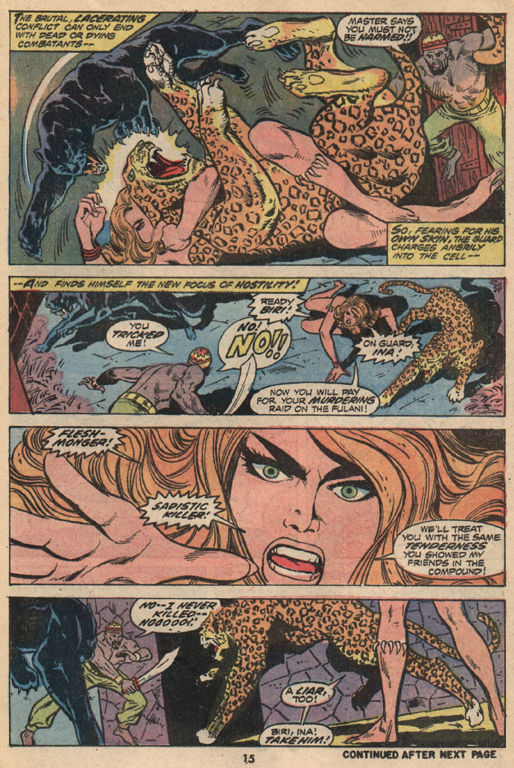 Read online Shanna, the She-Devil (1972) comic -  Issue #2 - 12
