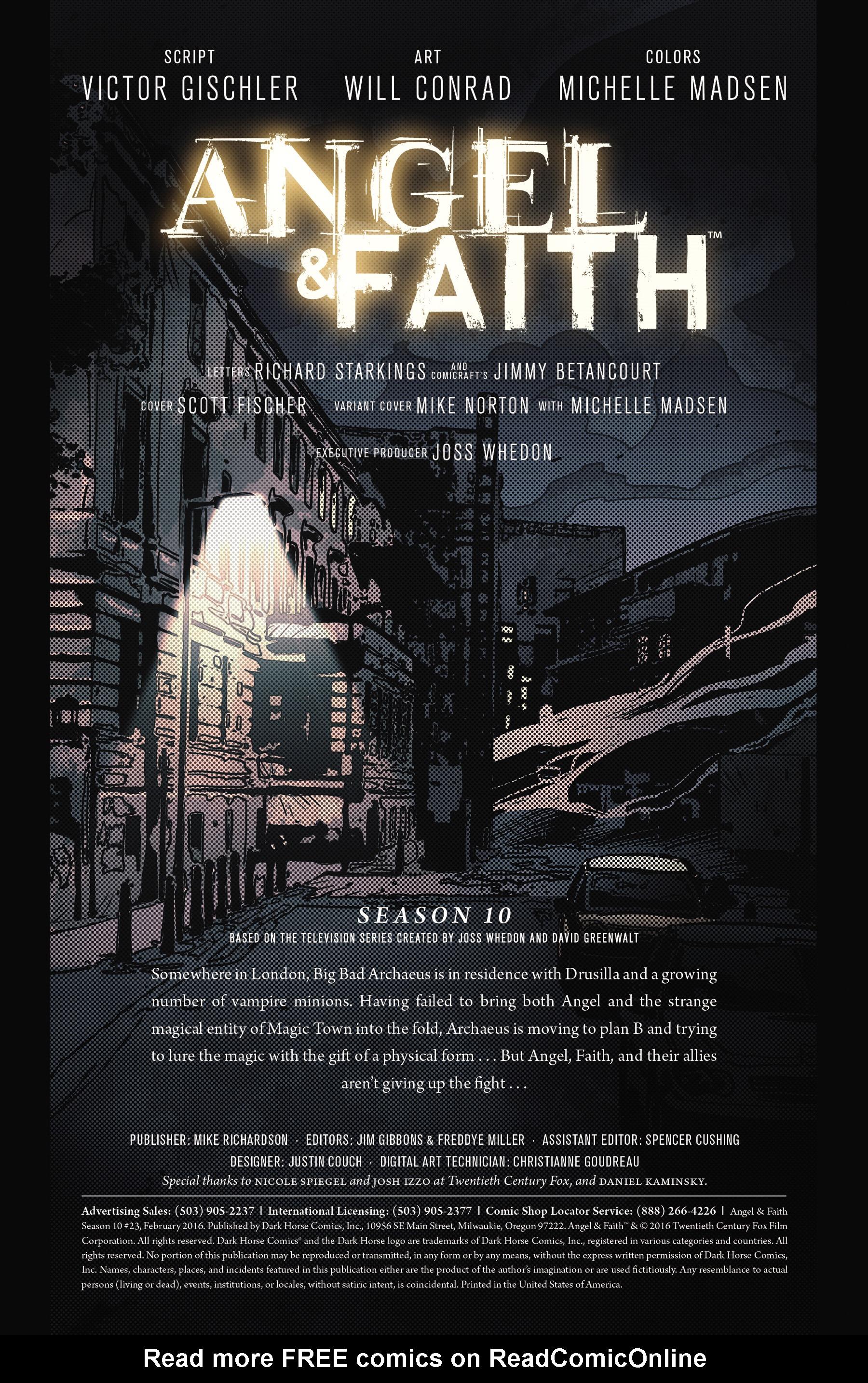 Read online Angel & Faith Season 10 comic -  Issue #23 - 2