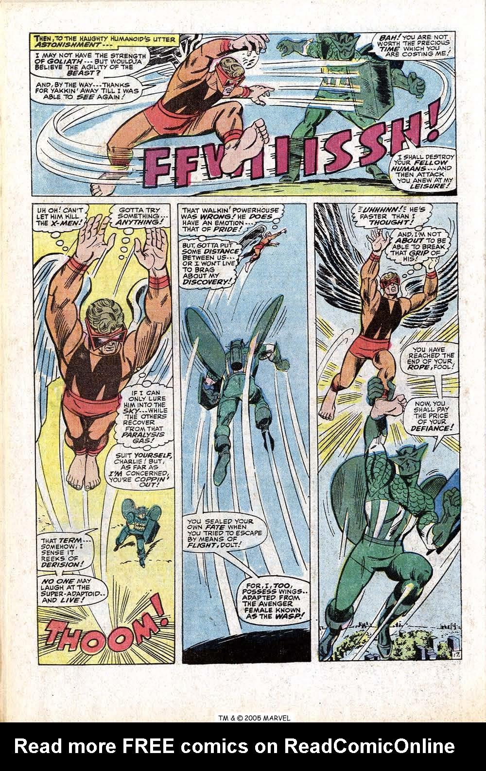 Read online Uncanny X-Men (1963) comic -  Issue #77 - 28