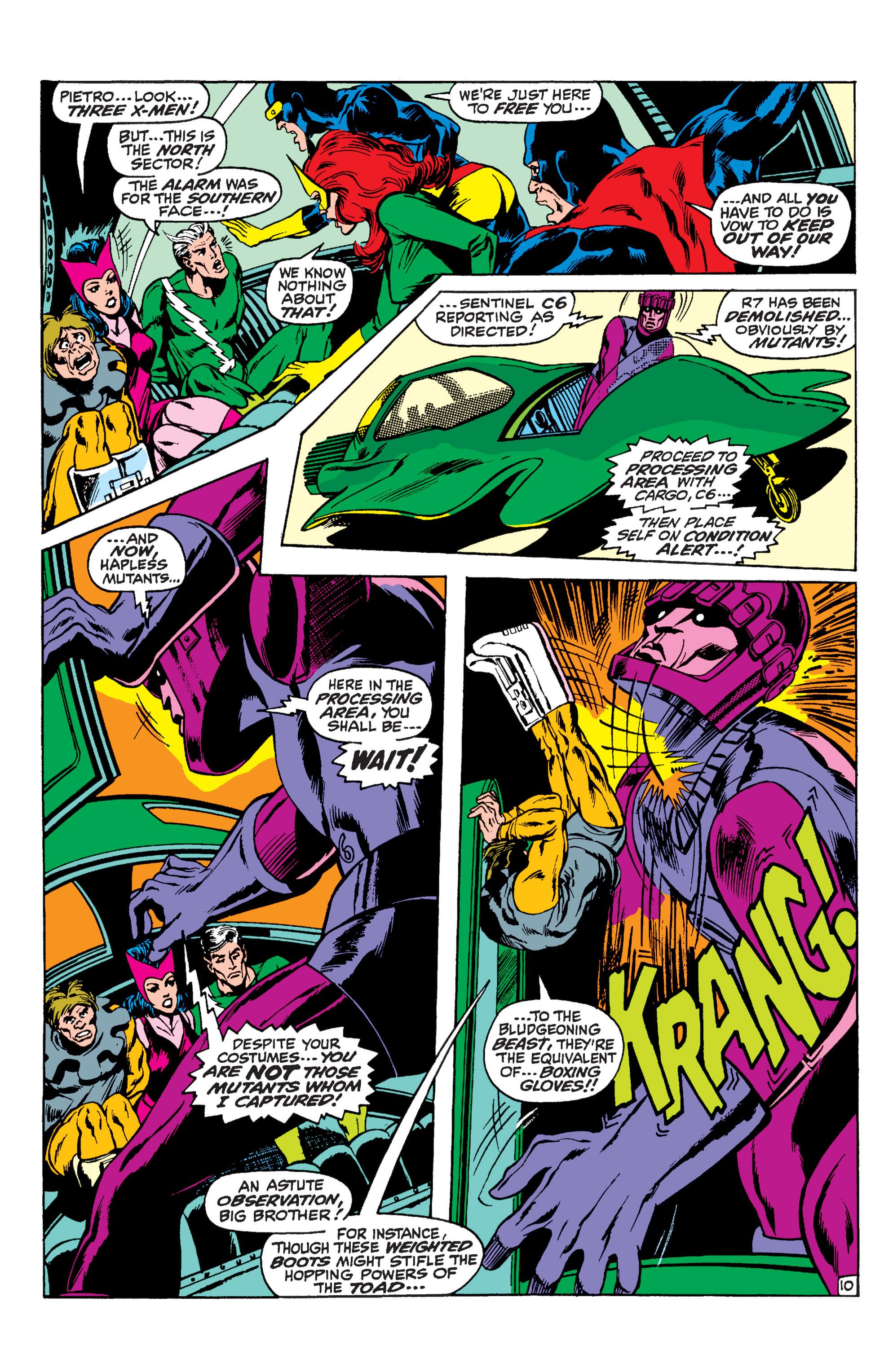 Read online Uncanny X-Men (1963) comic -  Issue #59 - 11