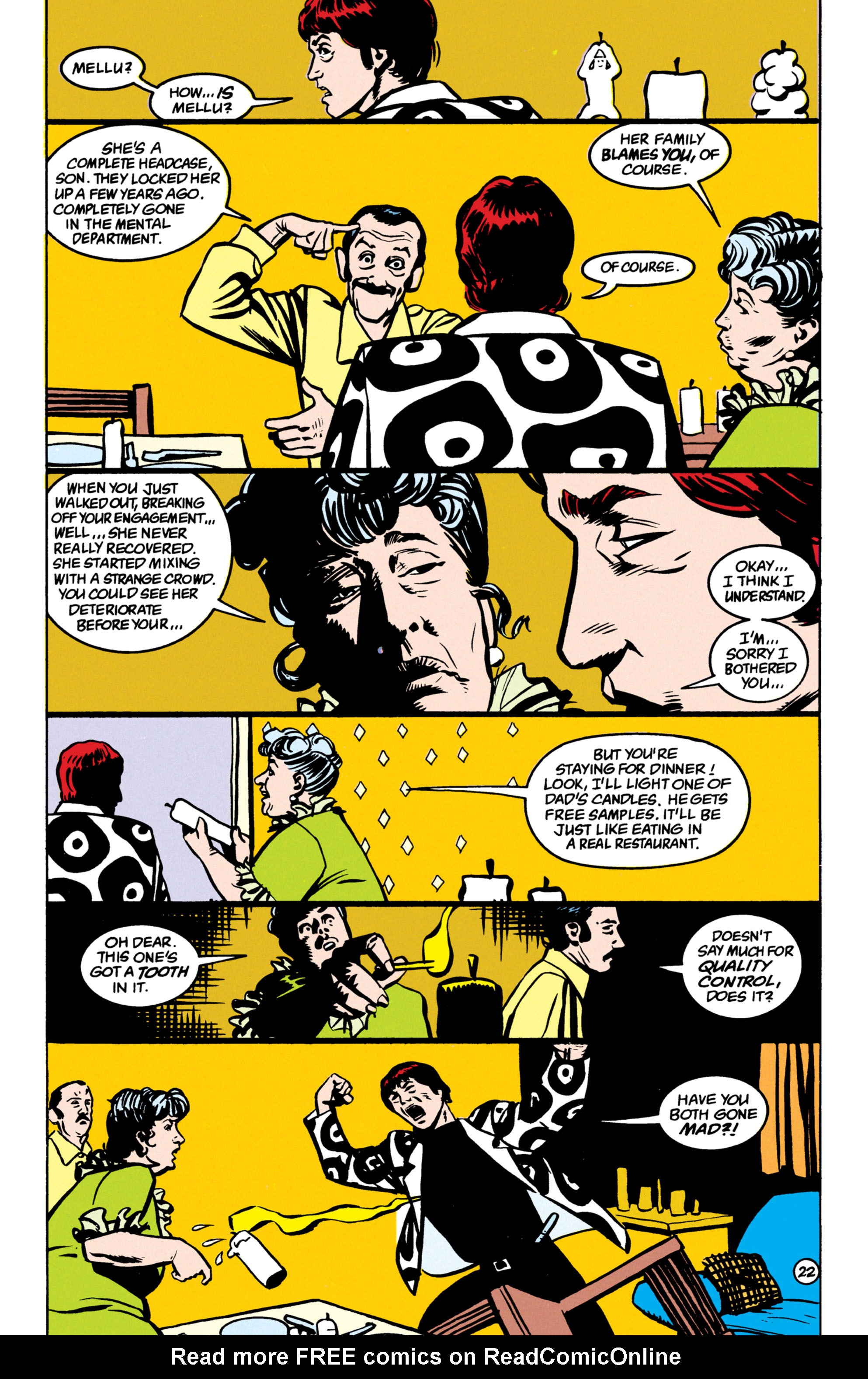 Read online Shade, the Changing Man comic -  Issue #52 - 23