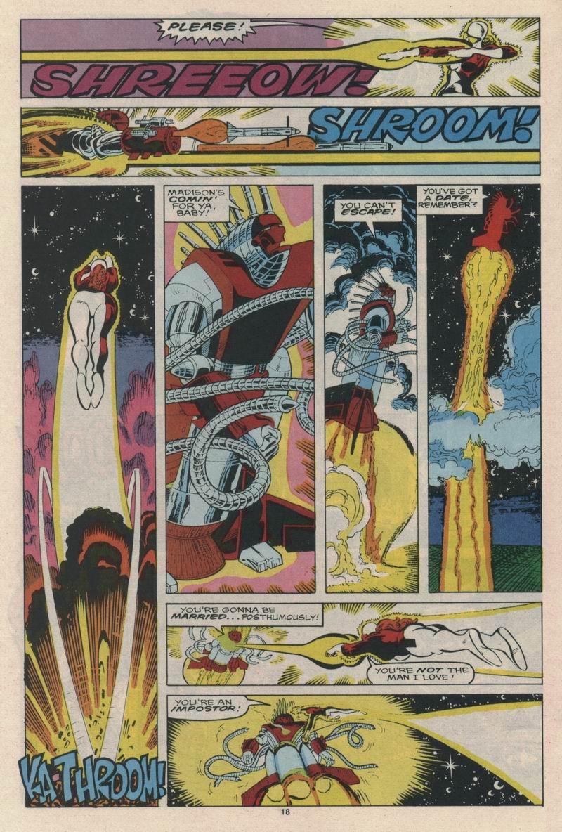 Read online Alpha Flight (1983) comic -  Issue #65 - 20