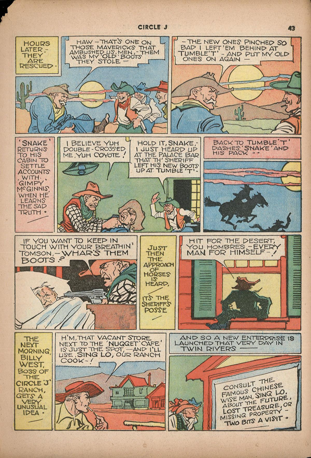 Read online Shadow Comics comic -  Issue #2 - 46