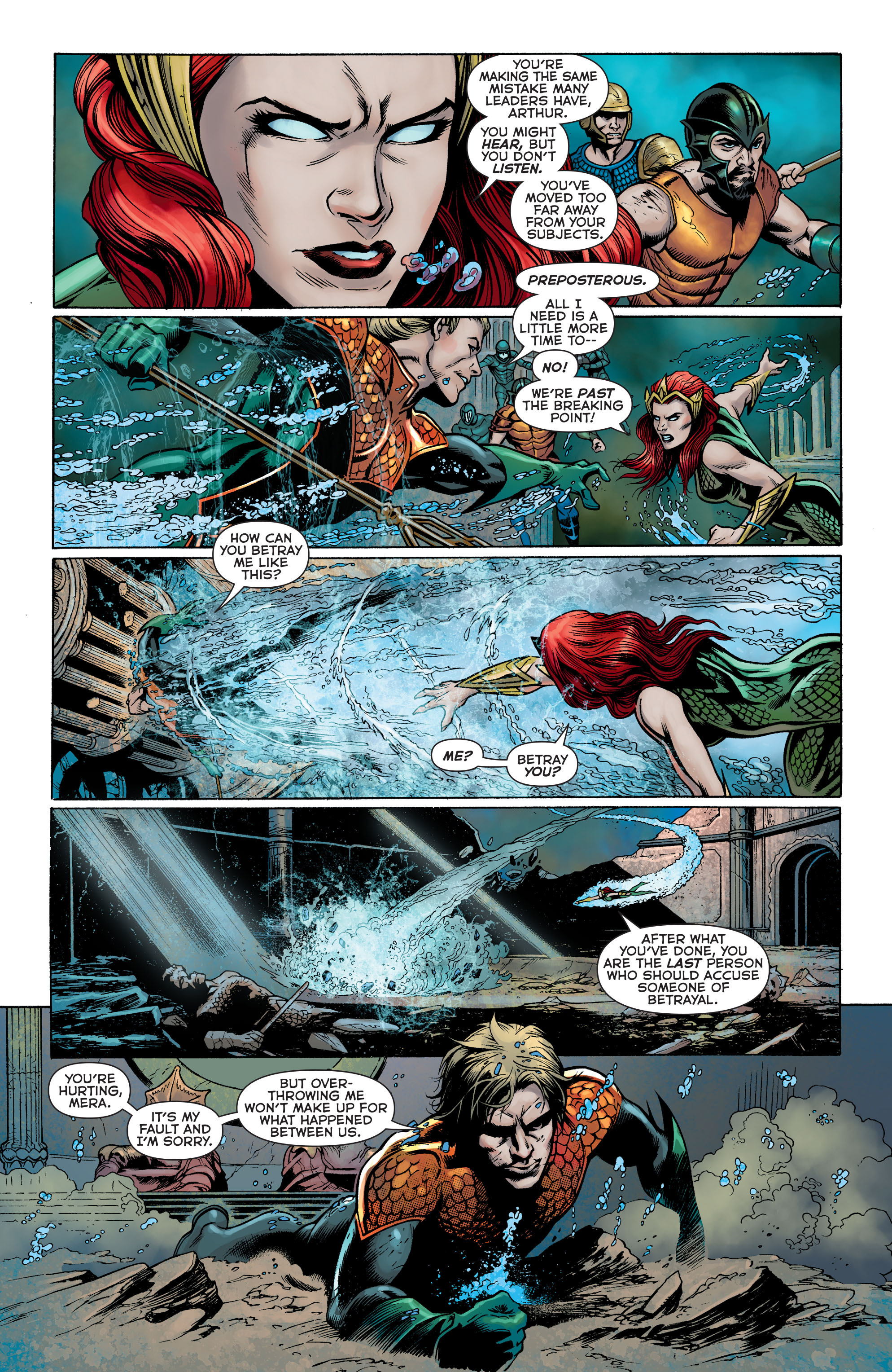 Read online Aquaman: Futures End comic -  Issue #Aquaman: Futures End Full - 17