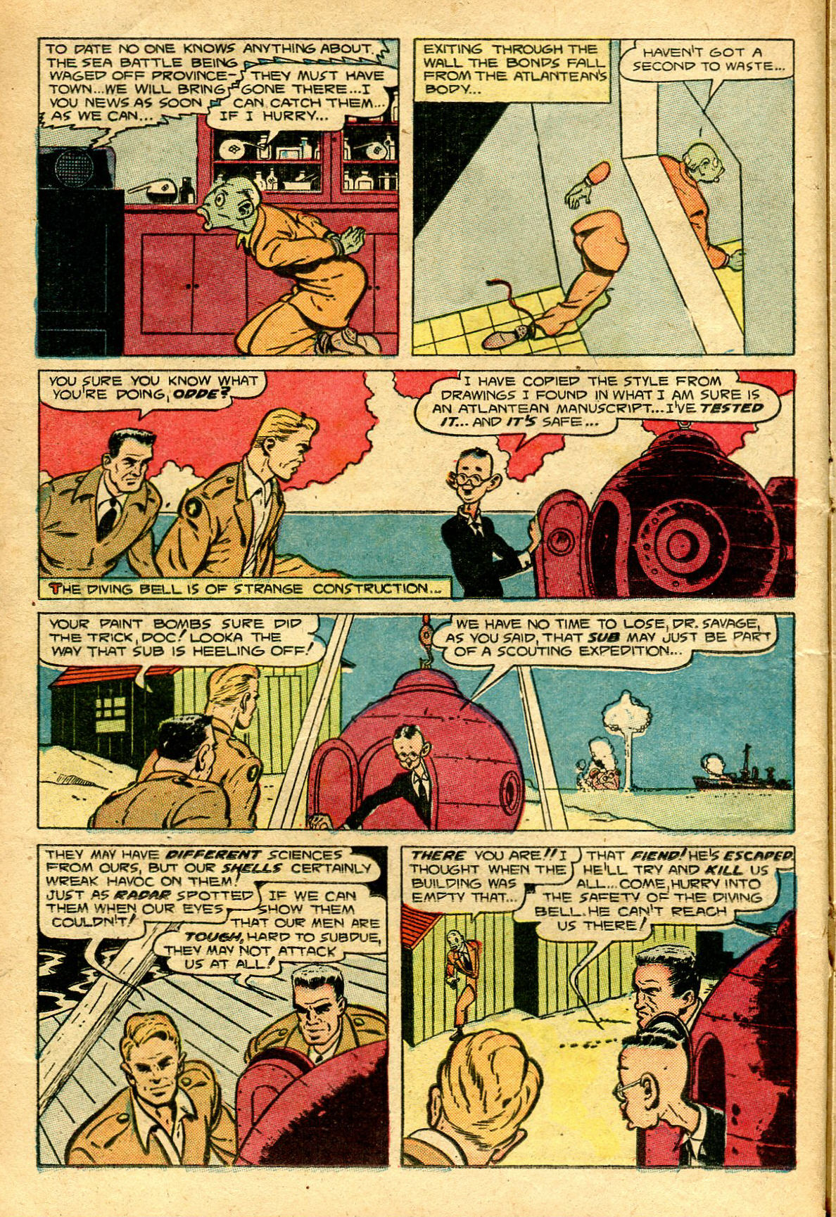 Read online Shadow Comics comic -  Issue #96 - 24