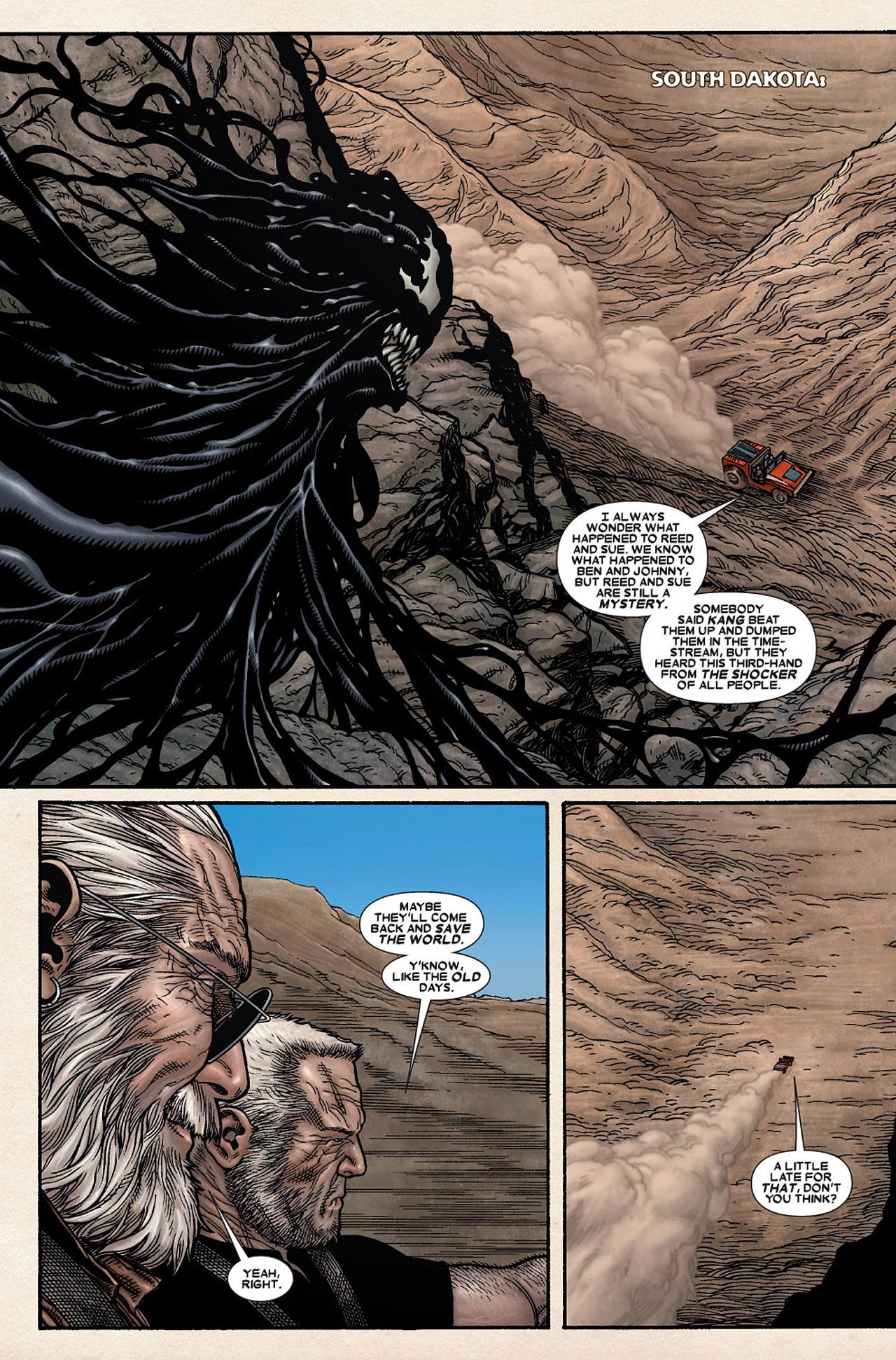 Read online Wolverine: Old Man Logan comic -  Issue # Full - 84