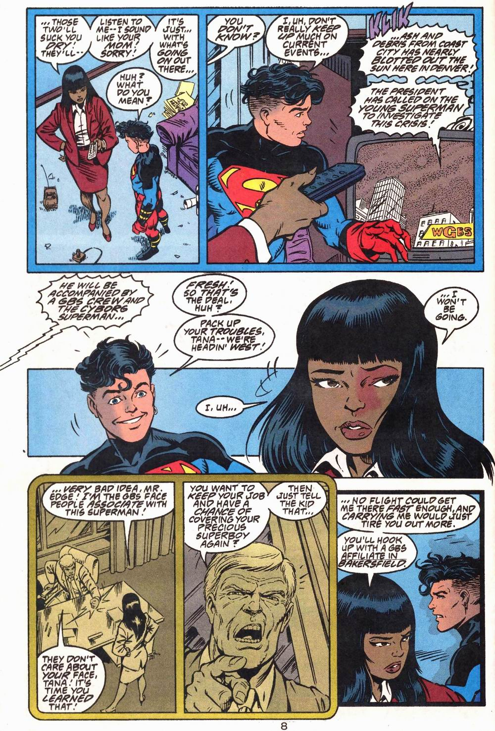 Read online Adventures of Superman (1987) comic -  Issue #503 - 9