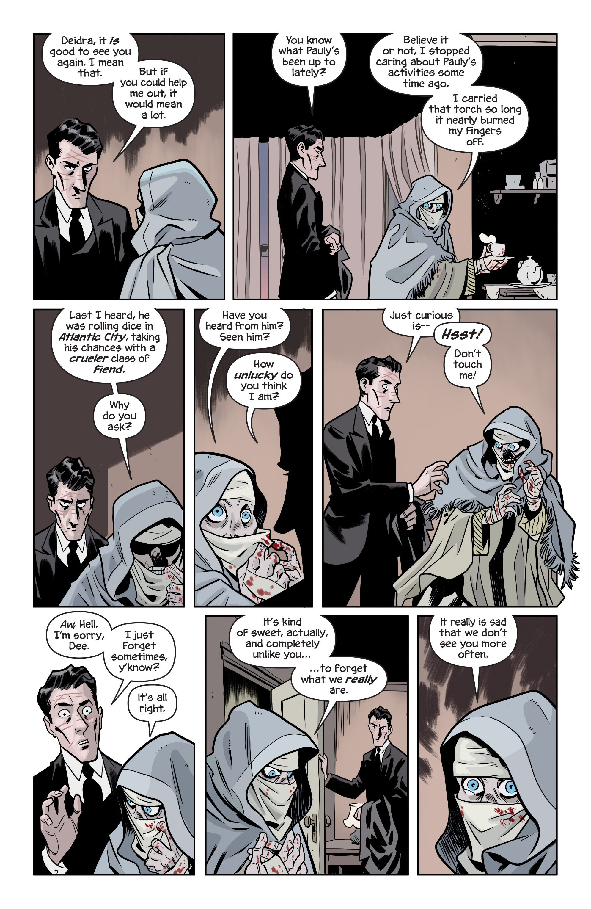 Read online The Damned comic -  Issue #1 - 19