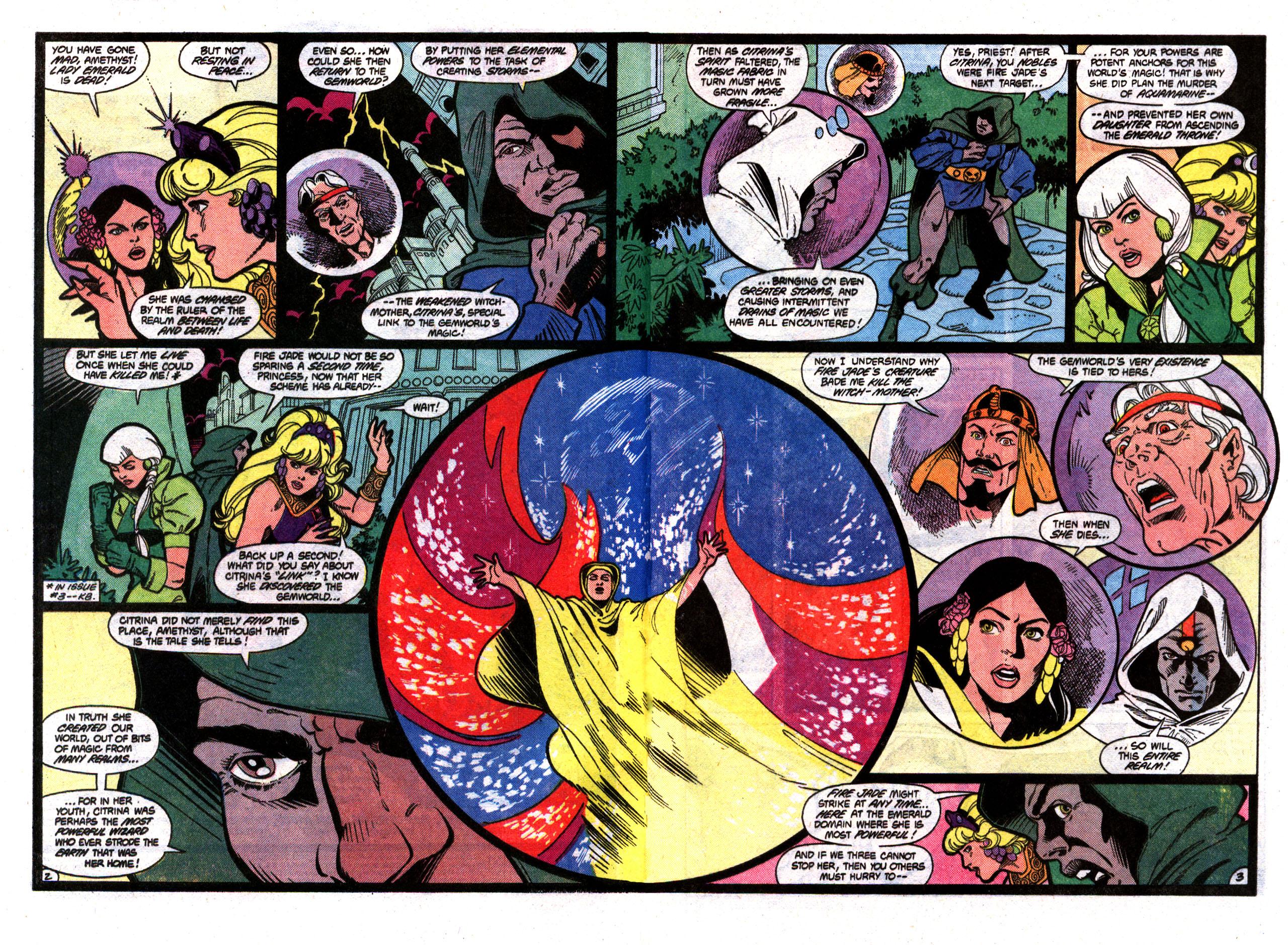Read online Amethyst (1985) comic -  Issue #8 - 3
