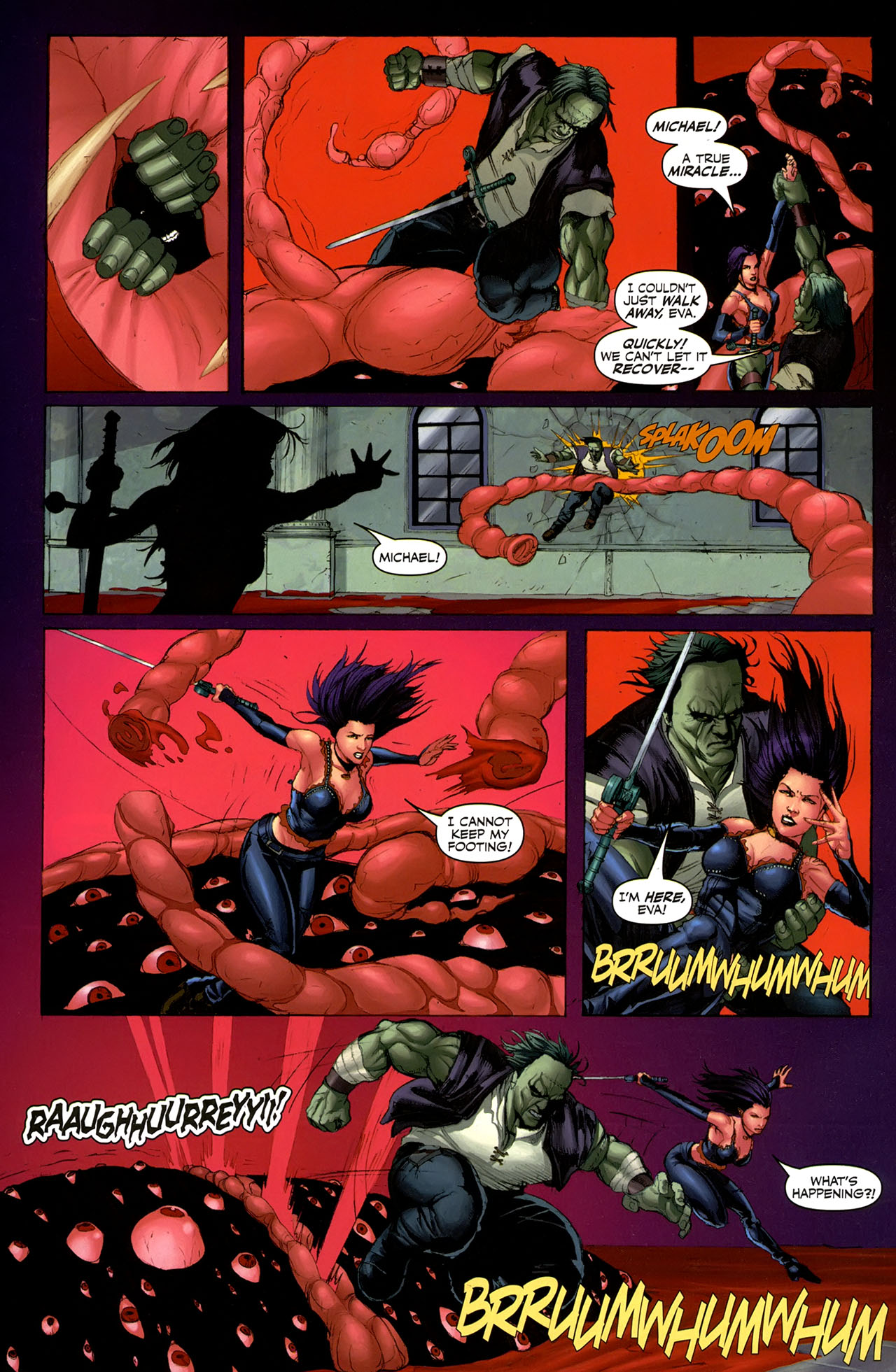 Read online Eva: Daughter of the Dragon comic -  Issue # Full - 30