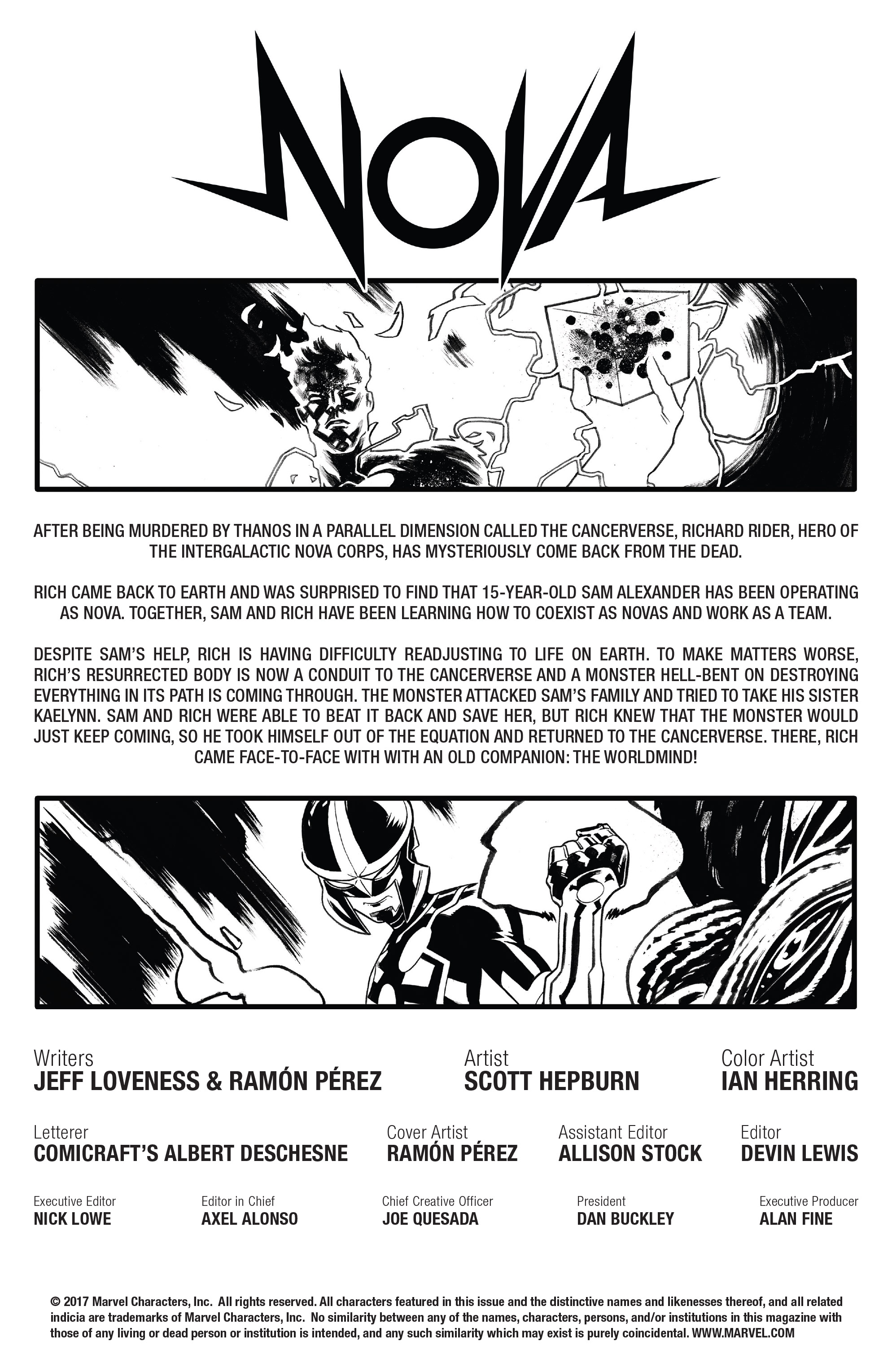Read online Nova (2017) comic -  Issue #6 - 2