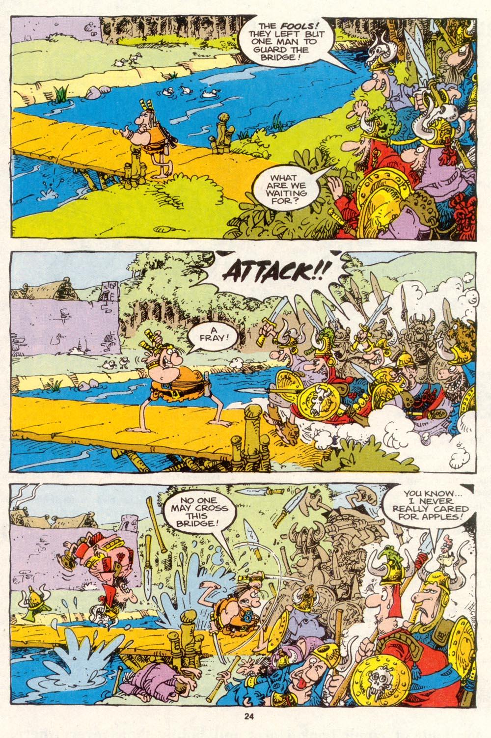 Read online Sergio Aragonés Groo the Wanderer comic -  Issue #86 - 19