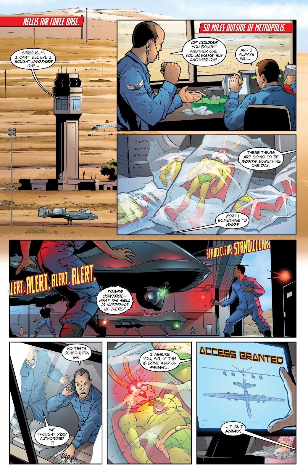 Read online Smallville Season 11 [II] comic -  Issue # TPB 2 - 113
