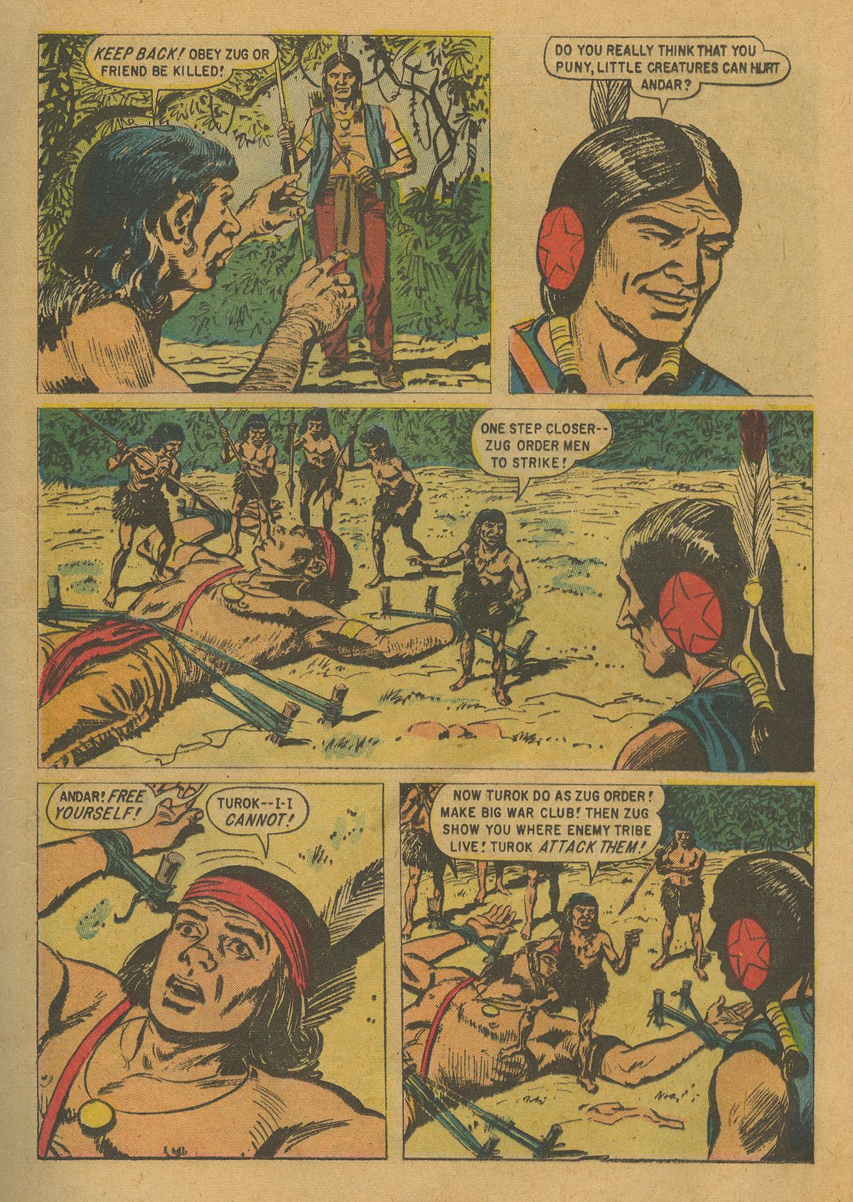 Read online Turok, Son of Stone comic -  Issue #17 - 13