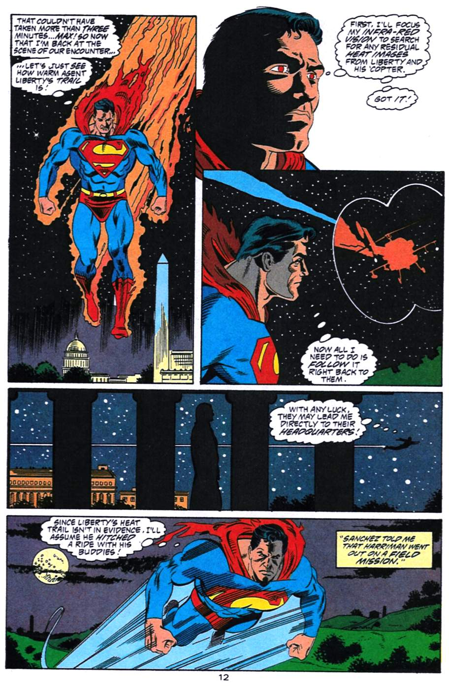 Read online Adventures of Superman (1987) comic -  Issue #492 - 13