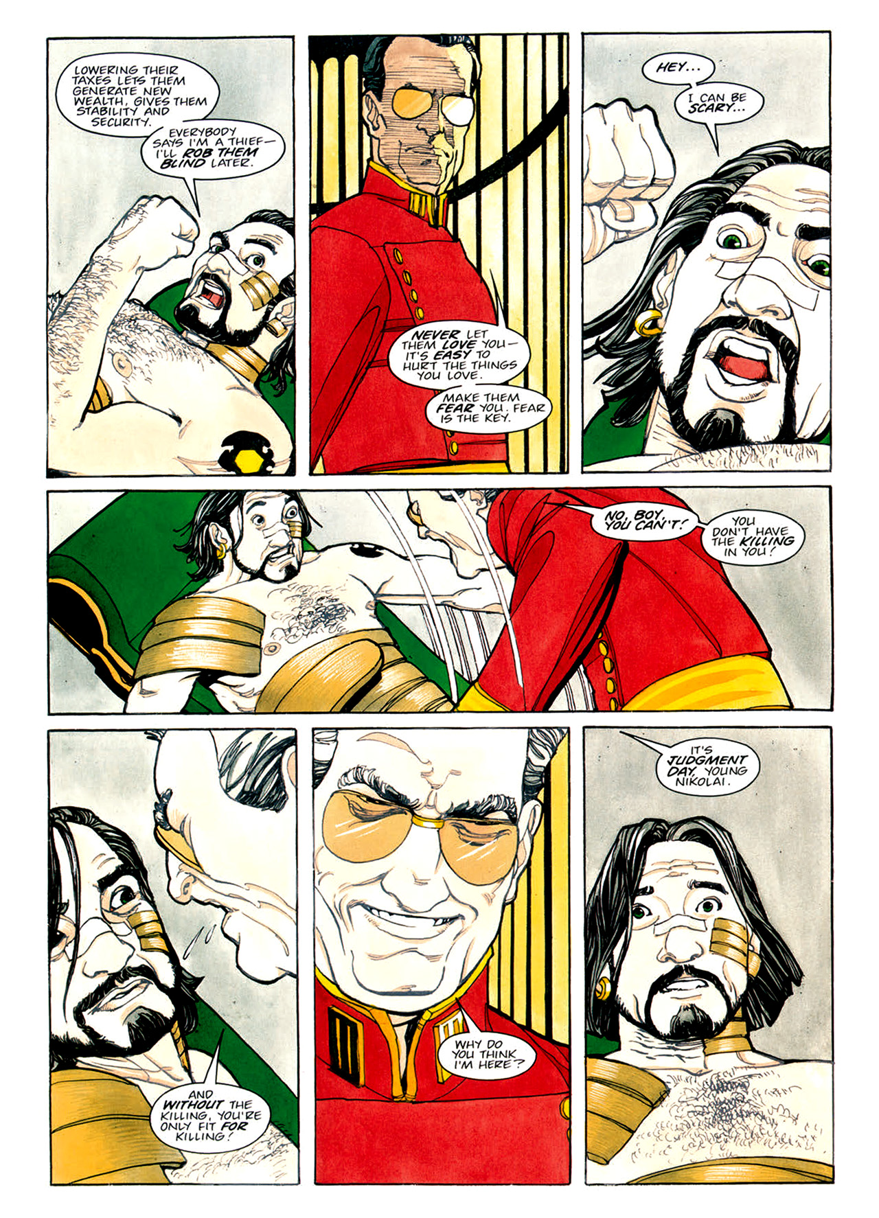 Read online Nikolai Dante comic -  Issue # TPB 1 - 89