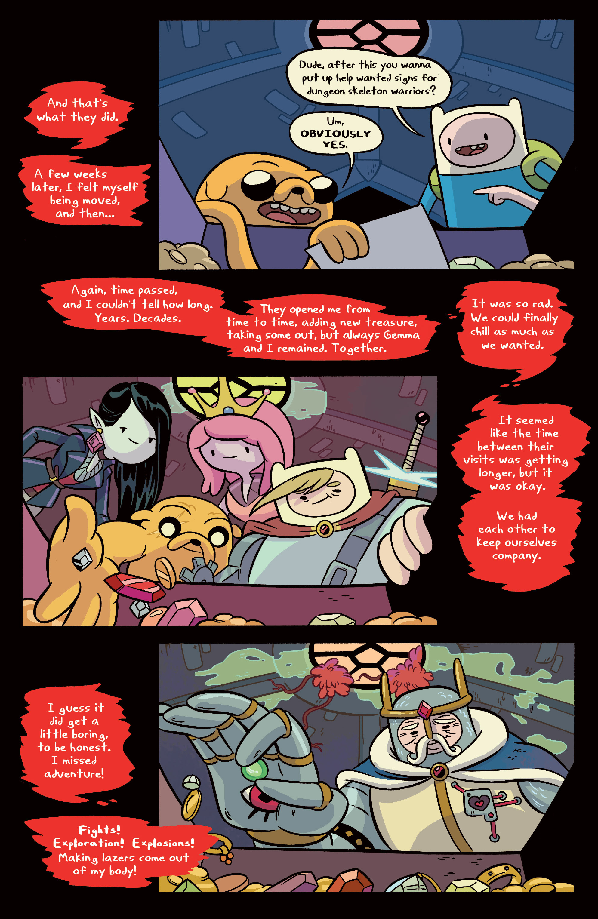 Read online Adventure Time comic -  Issue #Adventure Time _TPB 6 - 31