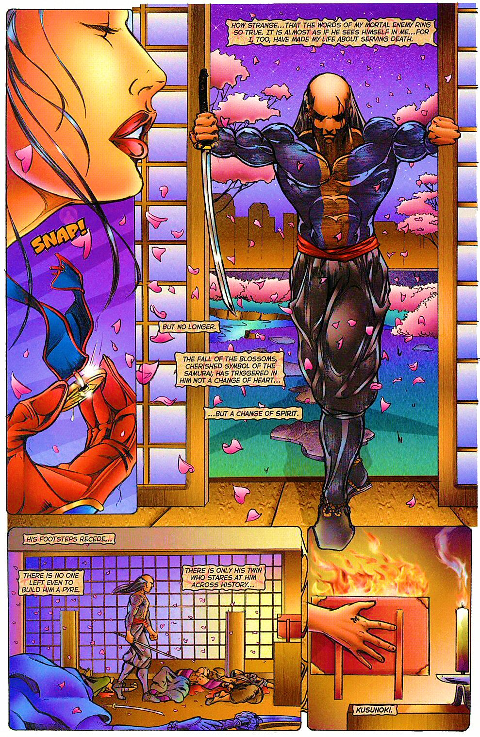 Read online Shi: The Way of the Warrior comic -  Issue #12 - 21