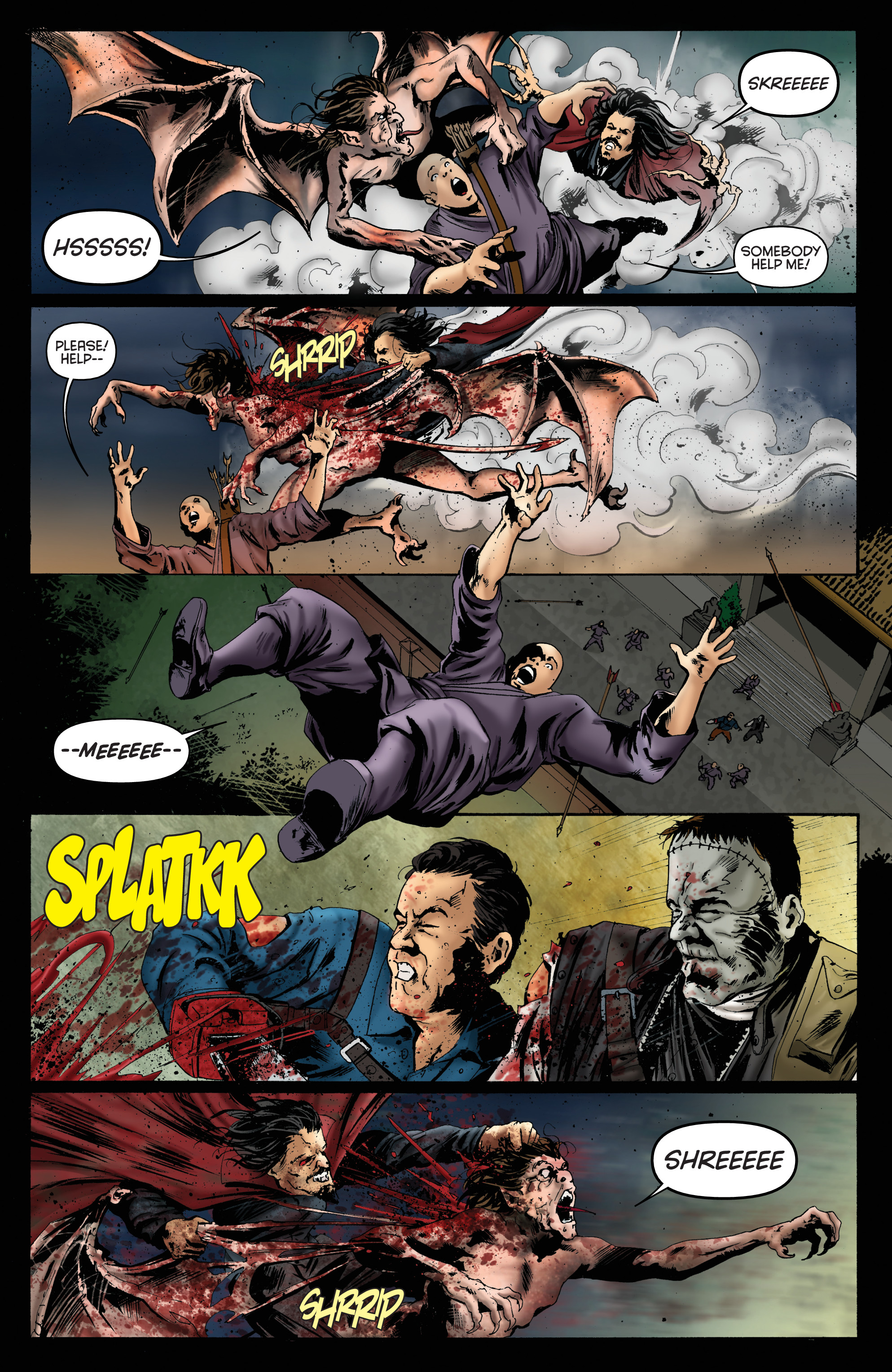 Read online Army of Darkness: Furious Road comic -  Issue #6 - 6