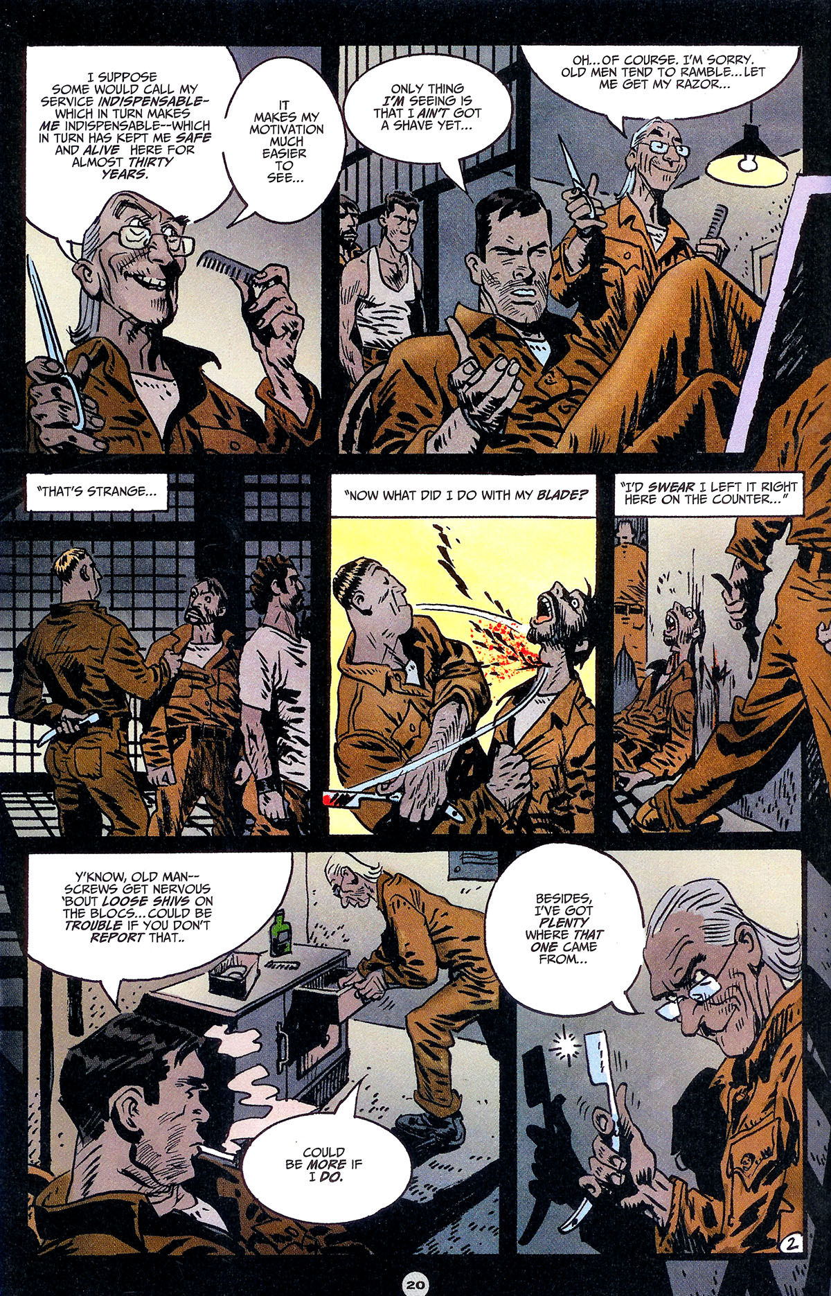 Read online Solo (2004) comic -  Issue #6 - 21
