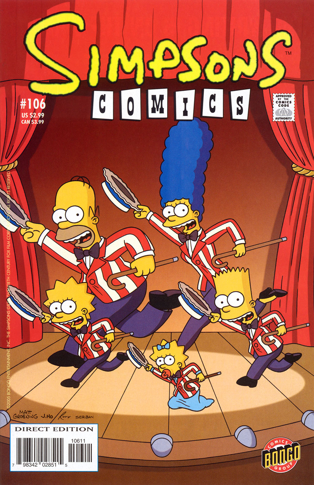 Read online Simpsons Comics comic -  Issue #106 - 1