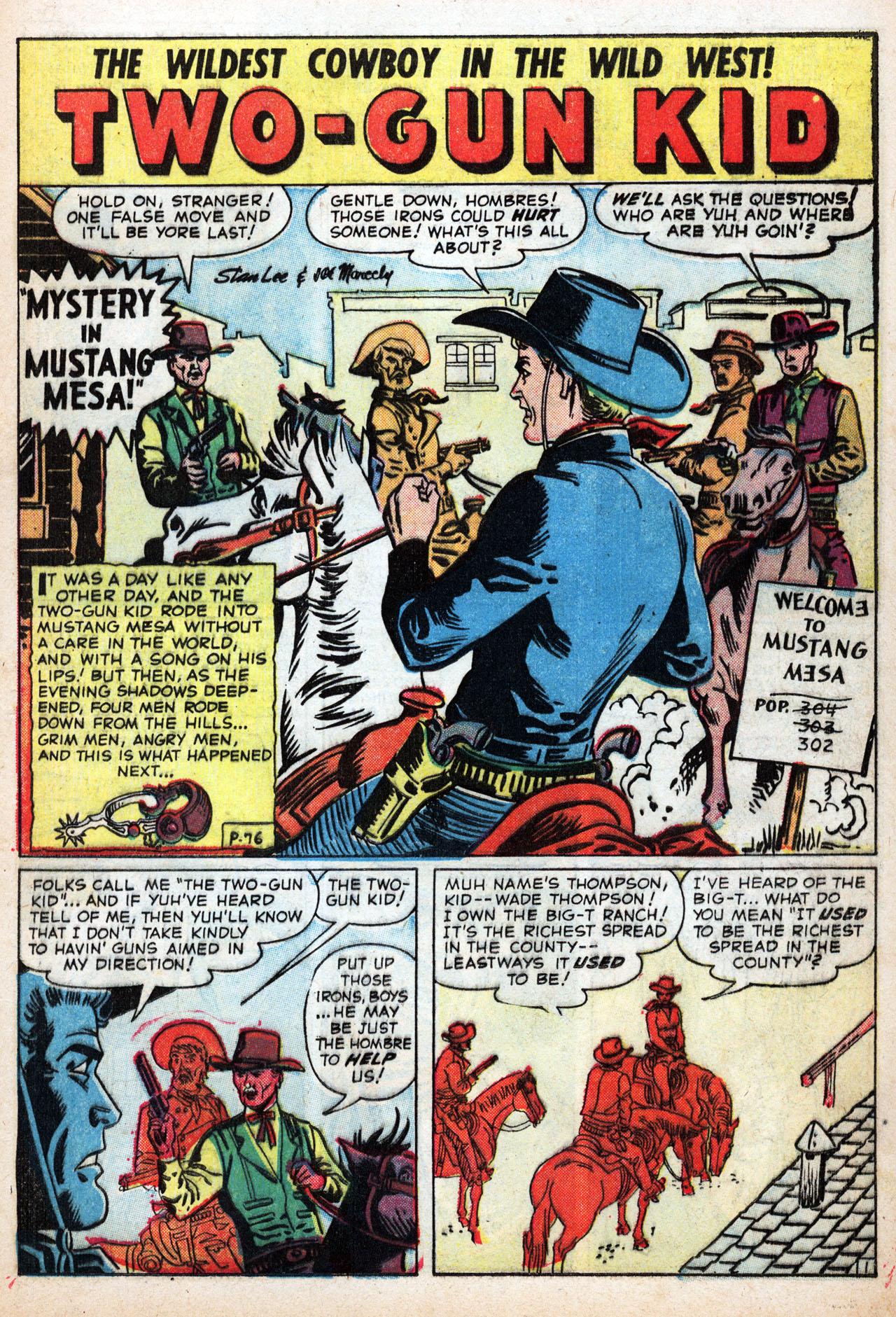 Read online Two-Gun Kid comic -  Issue #42 - 13