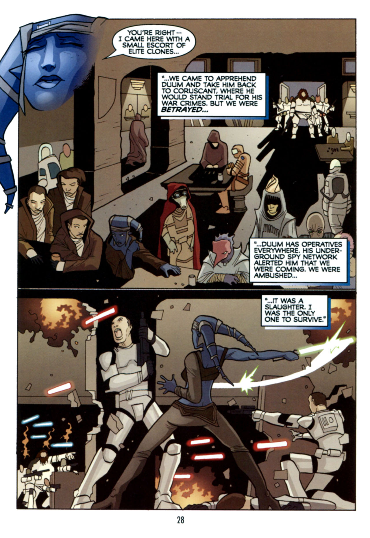 Read online Star Wars: The Clone Wars - Deadly Hands of Shon-Ju comic -  Issue # Full - 29