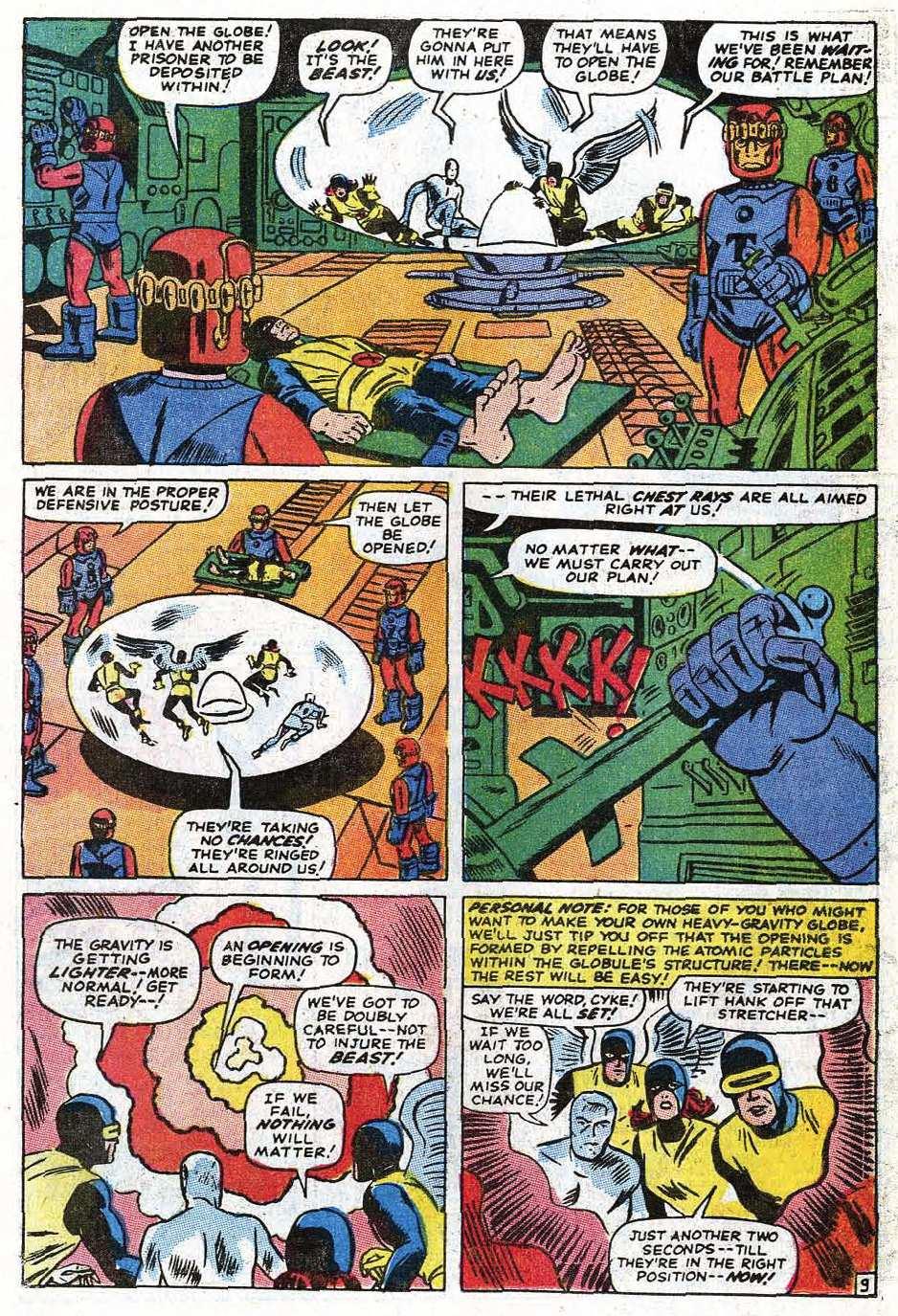 Read online Uncanny X-Men (1963) comic -  Issue #69 - 12