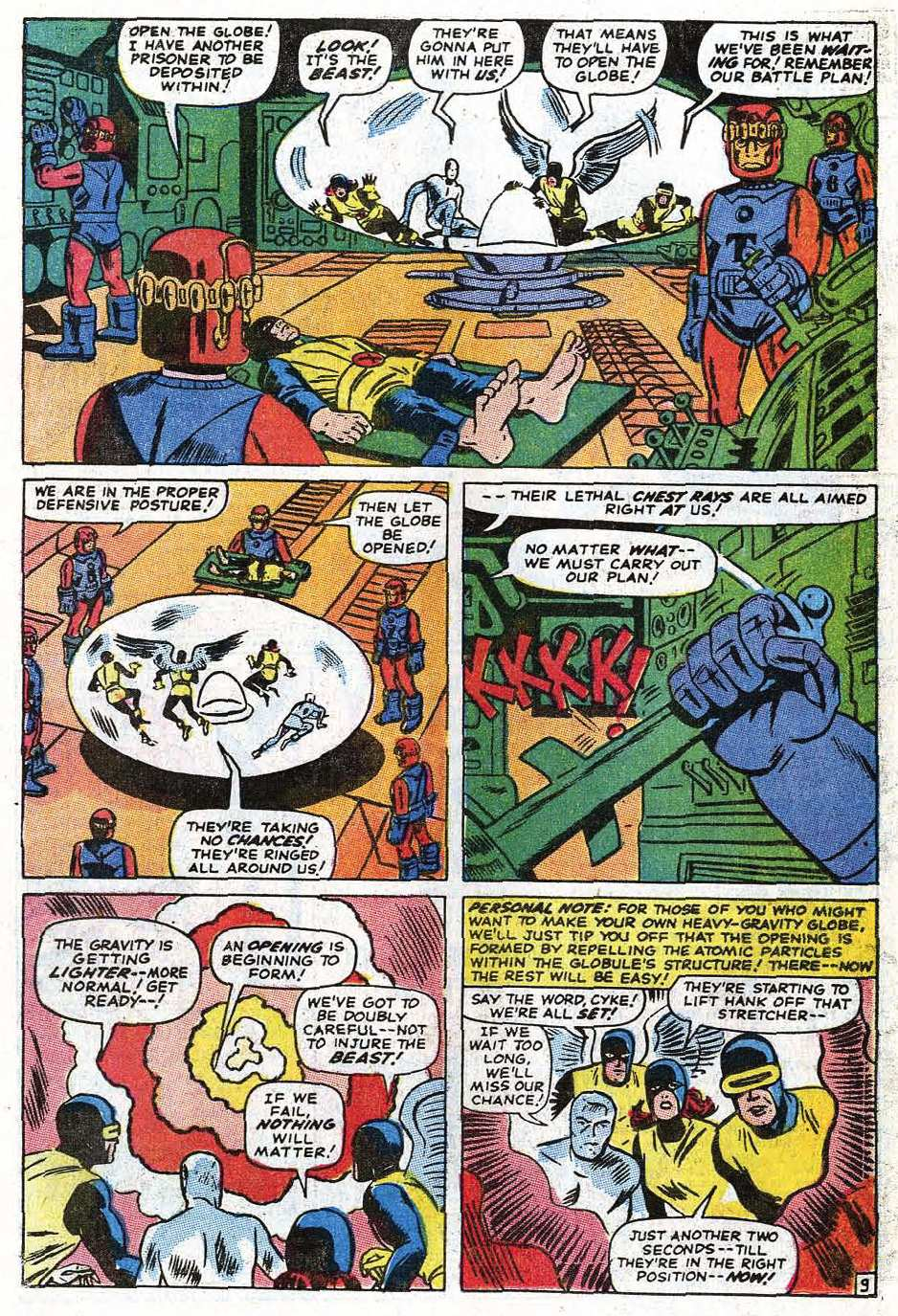Uncanny X-Men (1963) issue 69 - Page 12