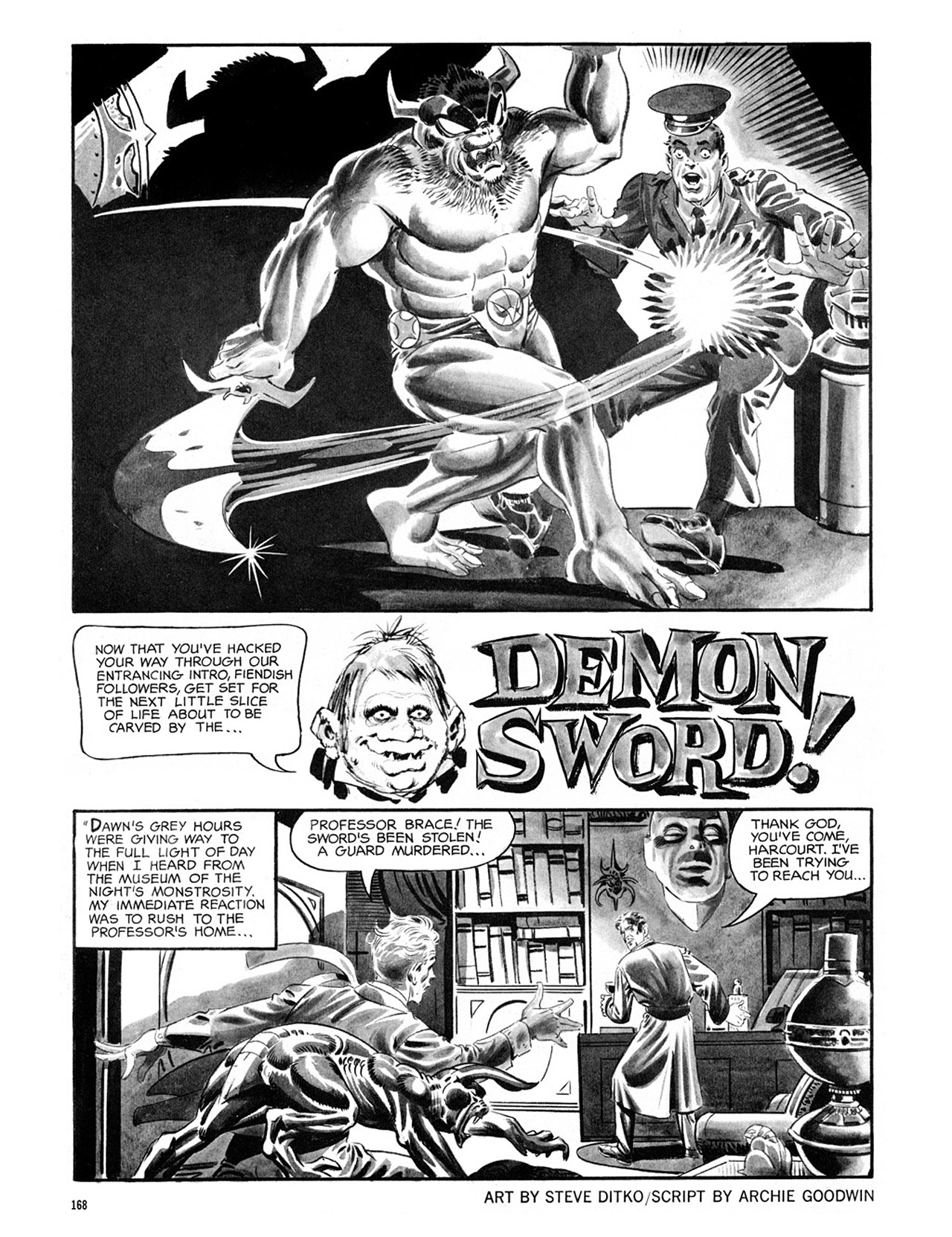 Read online Eerie Archives comic -  Issue # TPB 2 - 169