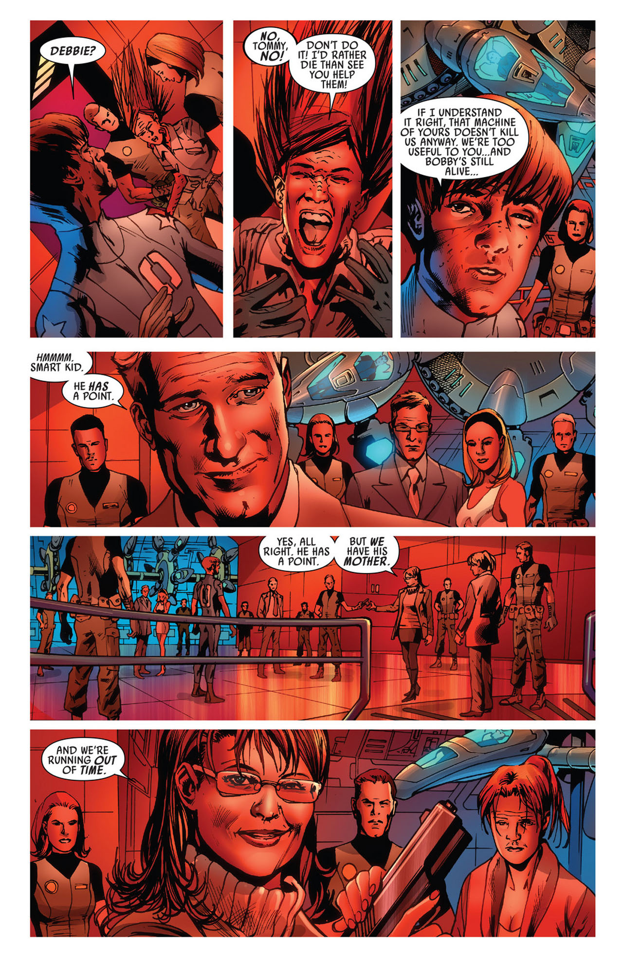 Read online America's Got Powers comic -  Issue #5 - 9