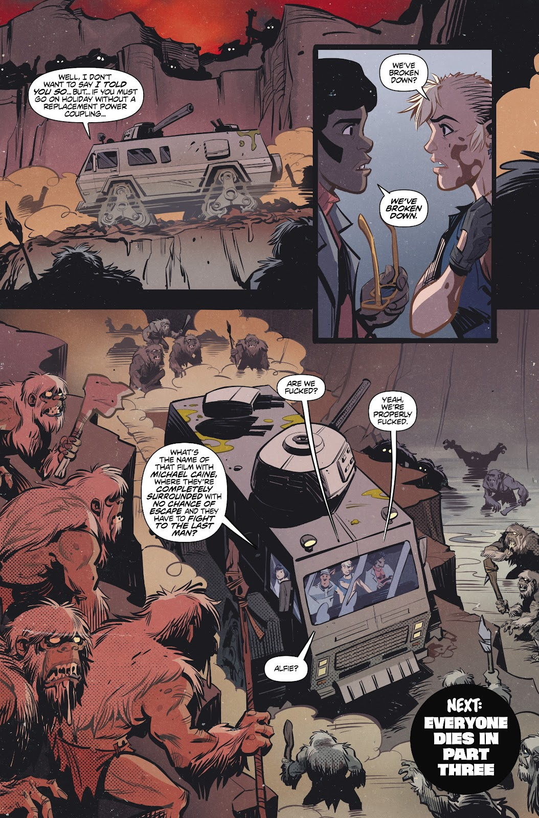 Read online Tank Girl Ongoing comic -  Issue #2 - 24