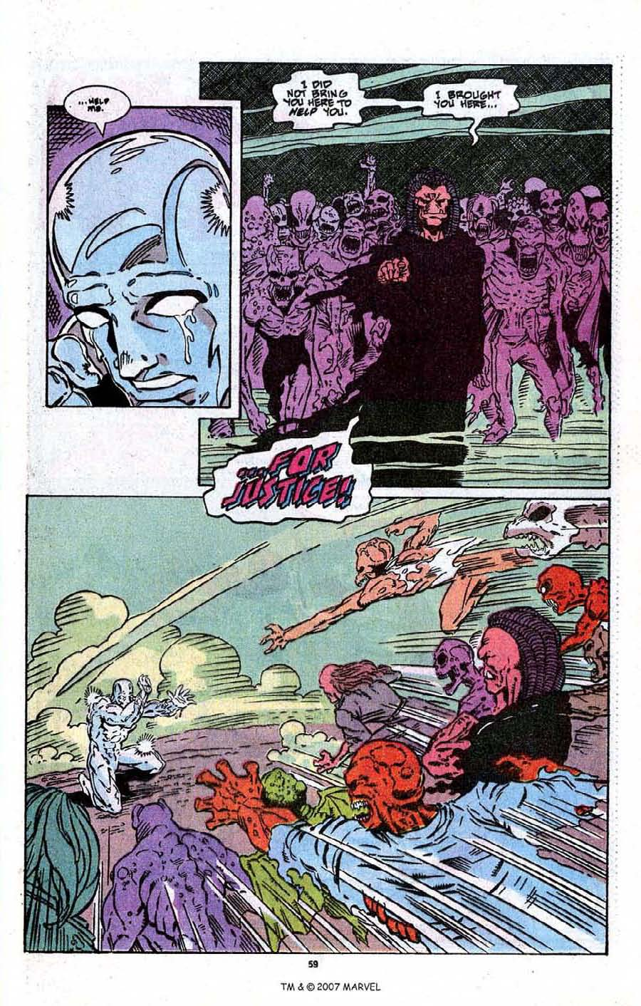 Read online Silver Surfer (1987) comic -  Issue # _Annual 3 - 61