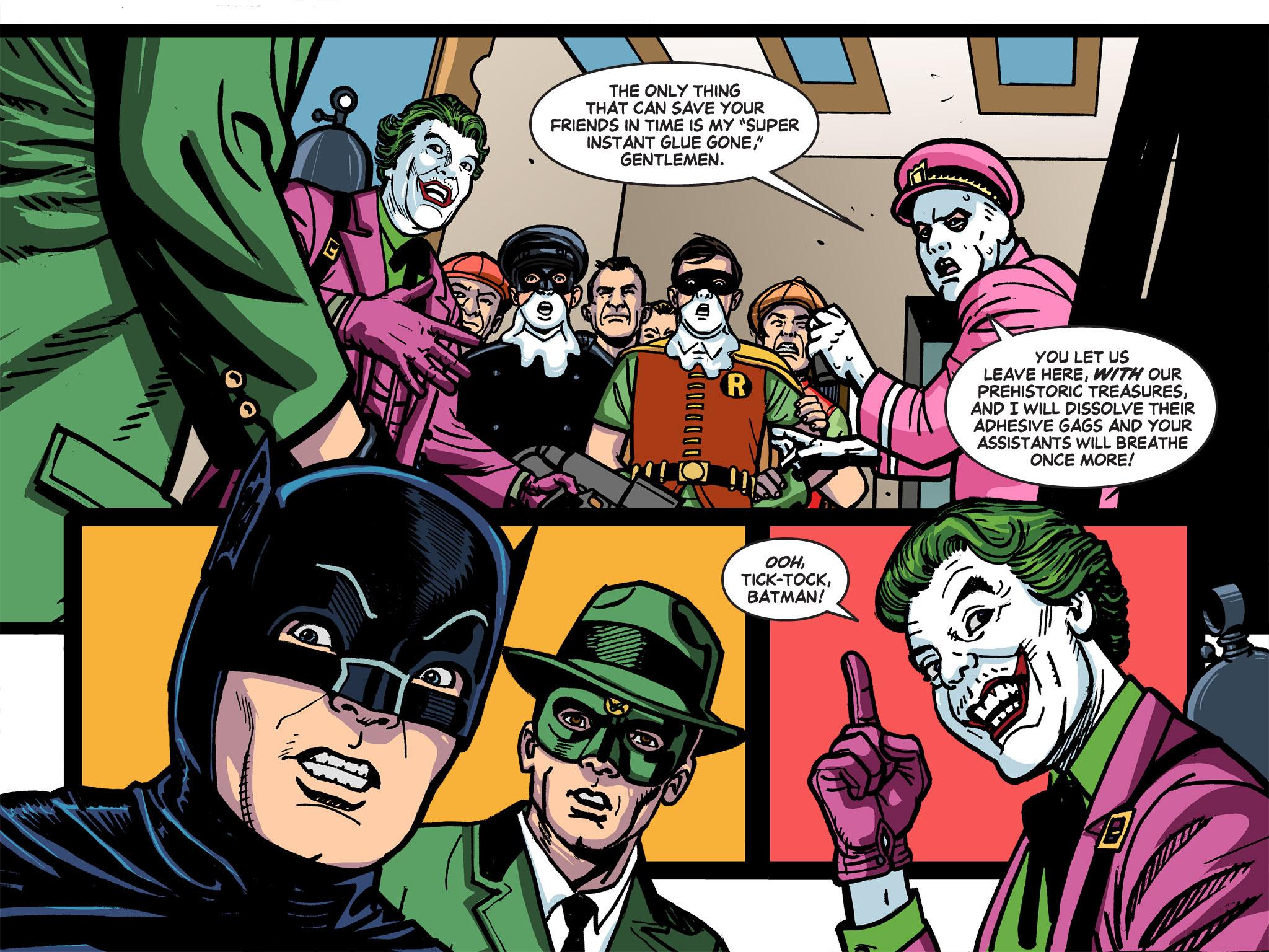 Read online Batman '66 Meets the Green Hornet [II] comic -  Issue #5 - 9