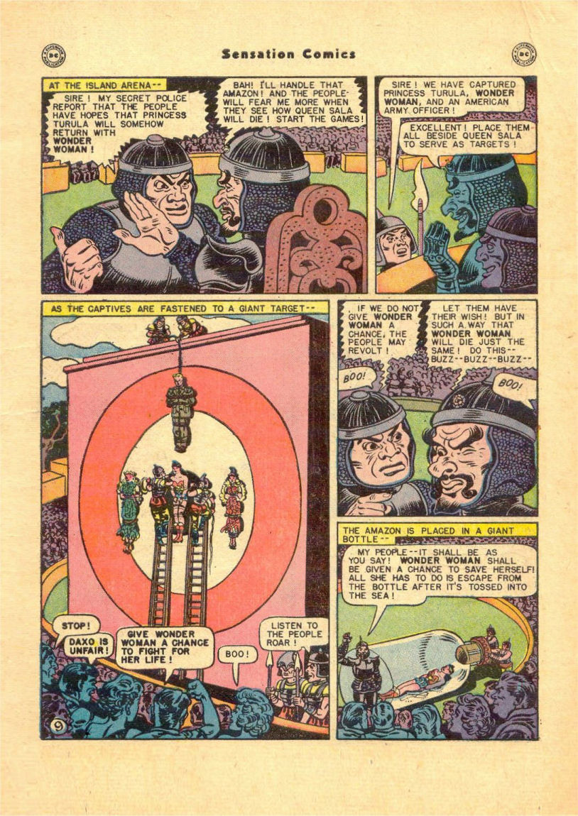 Read online Sensation (Mystery) Comics comic -  Issue #84 - 11