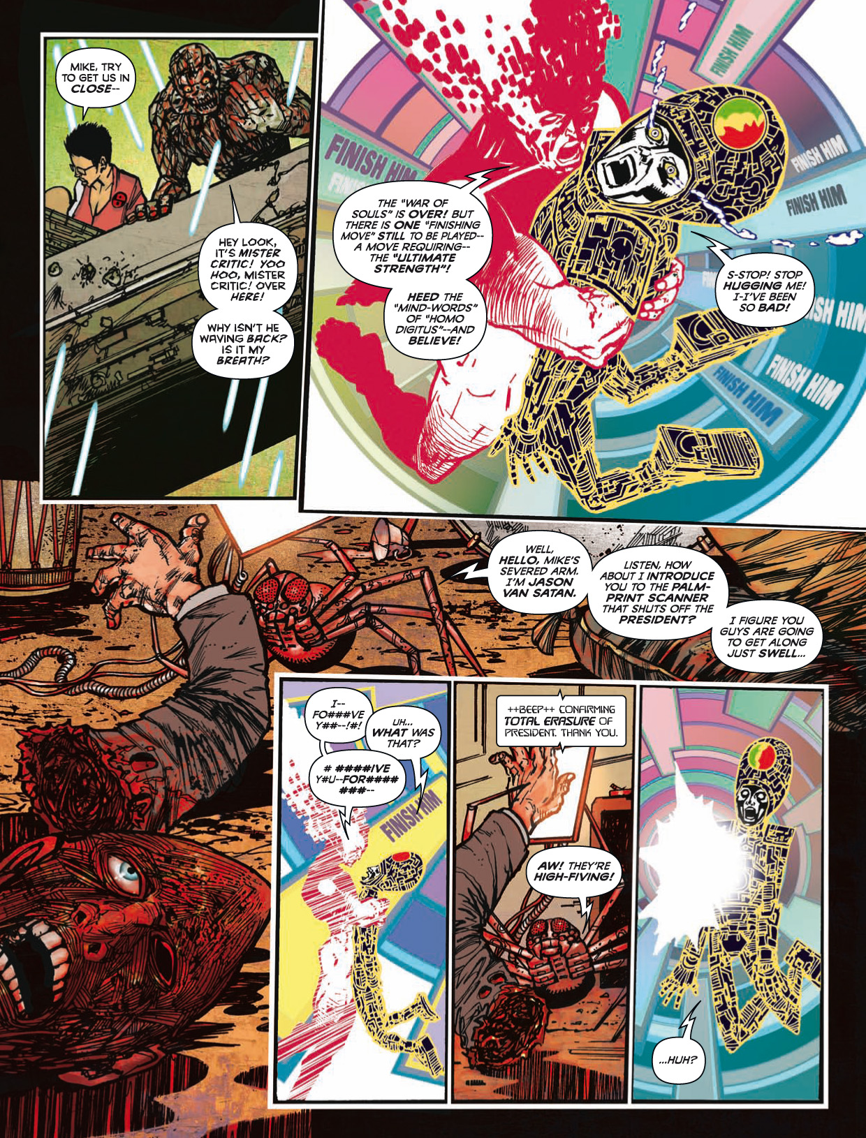 Read online 2000 AD comic -  Issue #1746 - 184