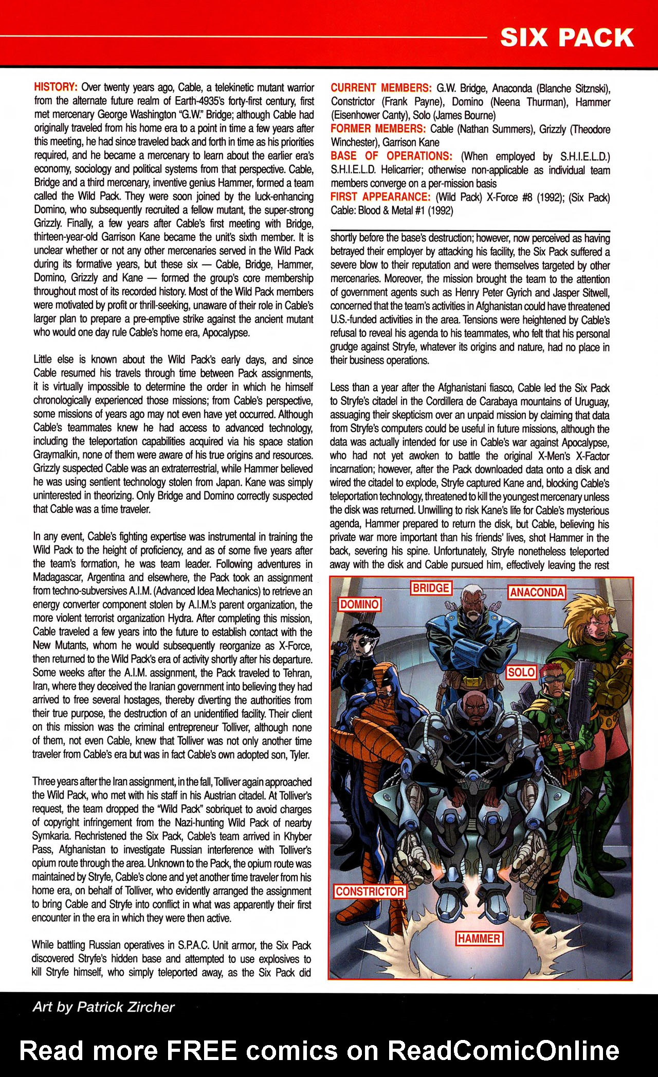 Read online All-New Official Handbook of the Marvel Universe A to Z comic -  Issue #10 - 19