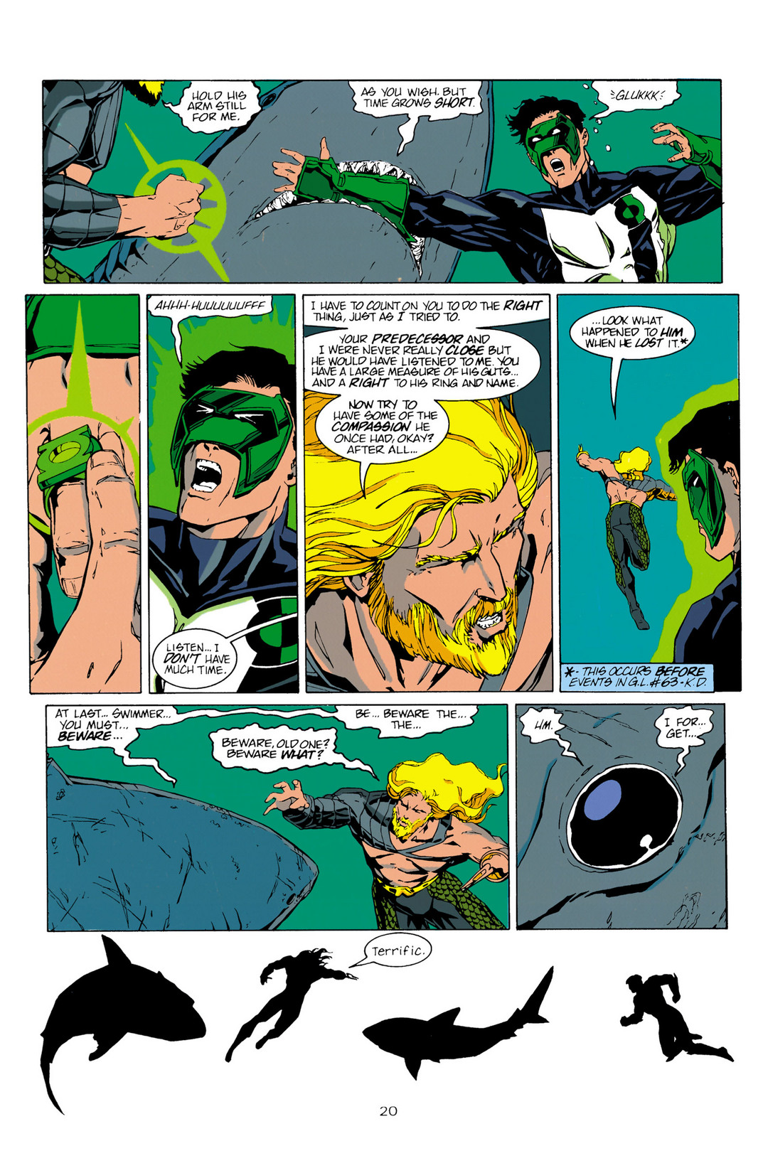 Read online Aquaman (1994) comic -  Issue #10 - 21