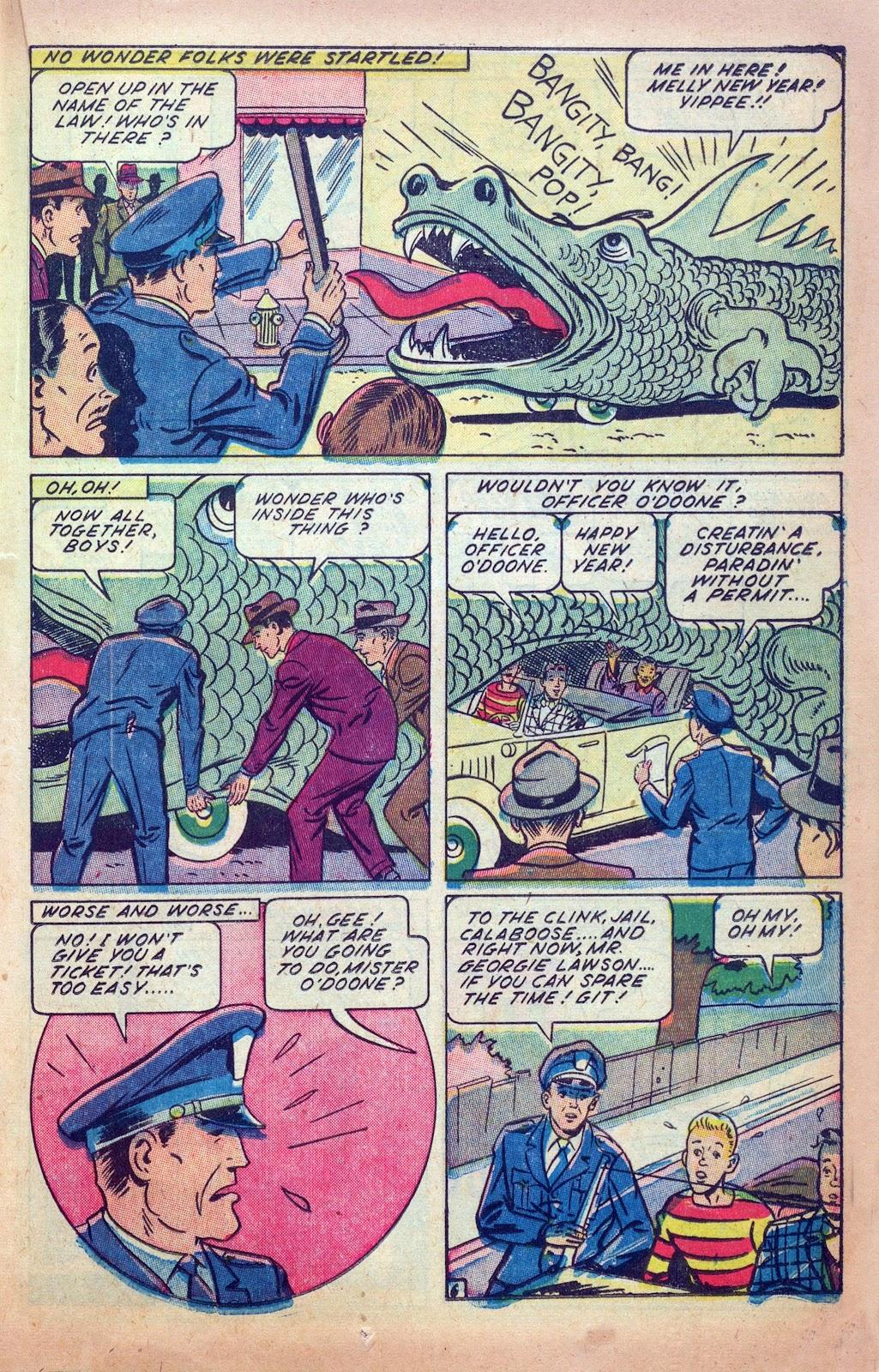 Read online Joker Comics comic -  Issue #25 - 27