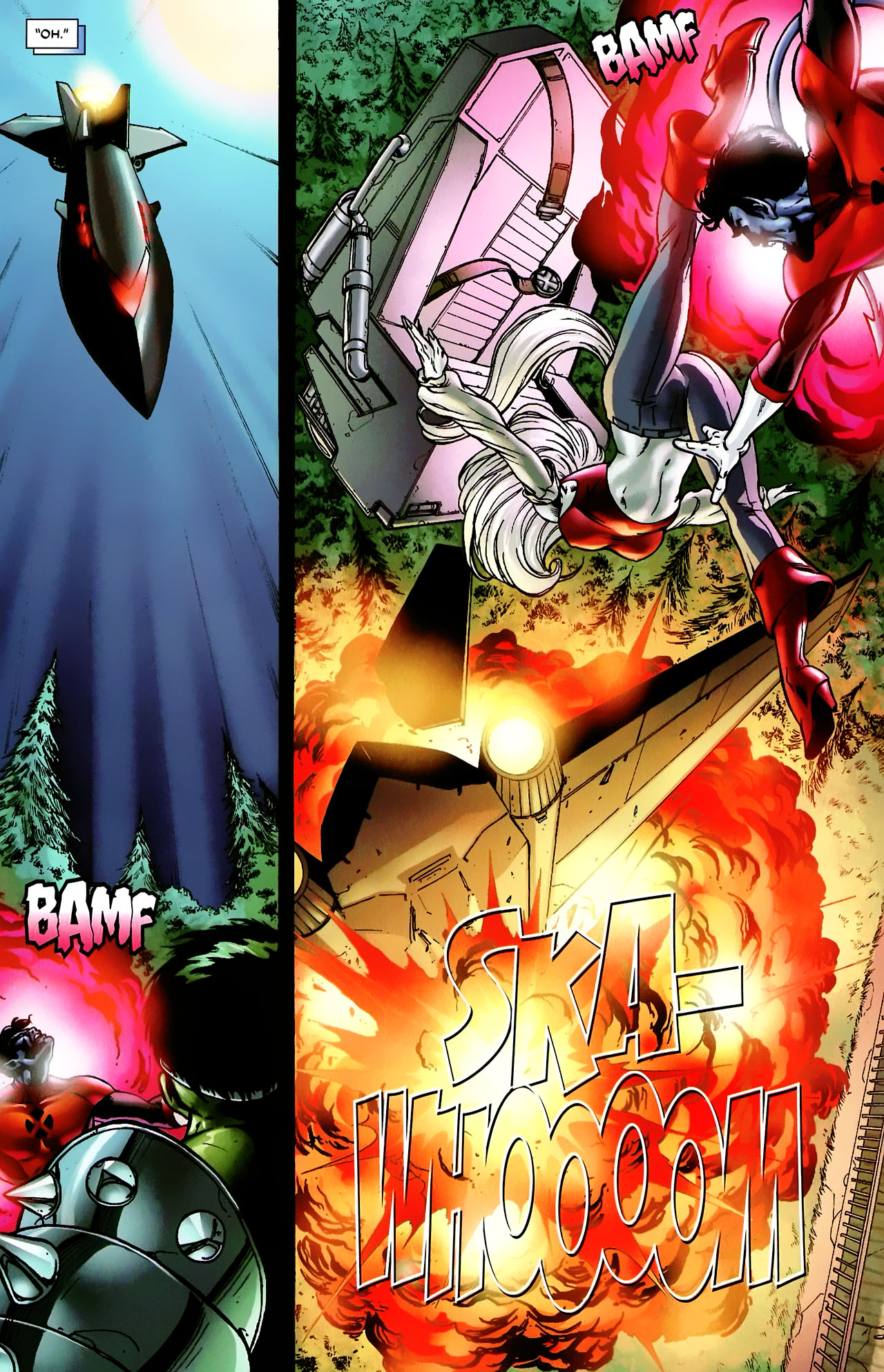 Read online World War Hulk: X-Men comic -  Issue #3 - 10