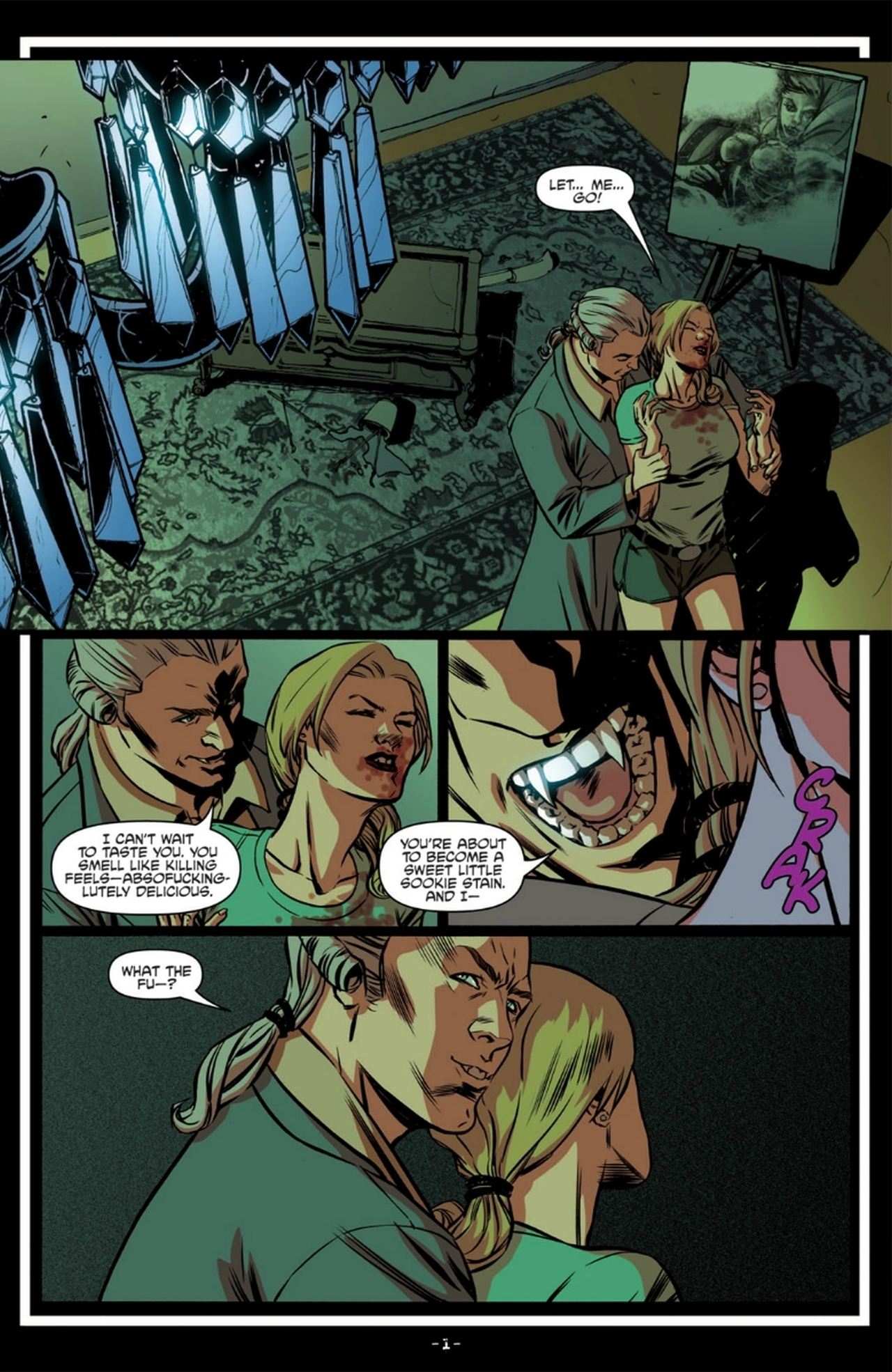 Read online True Blood: French Quarter comic -  Issue #6 - 6